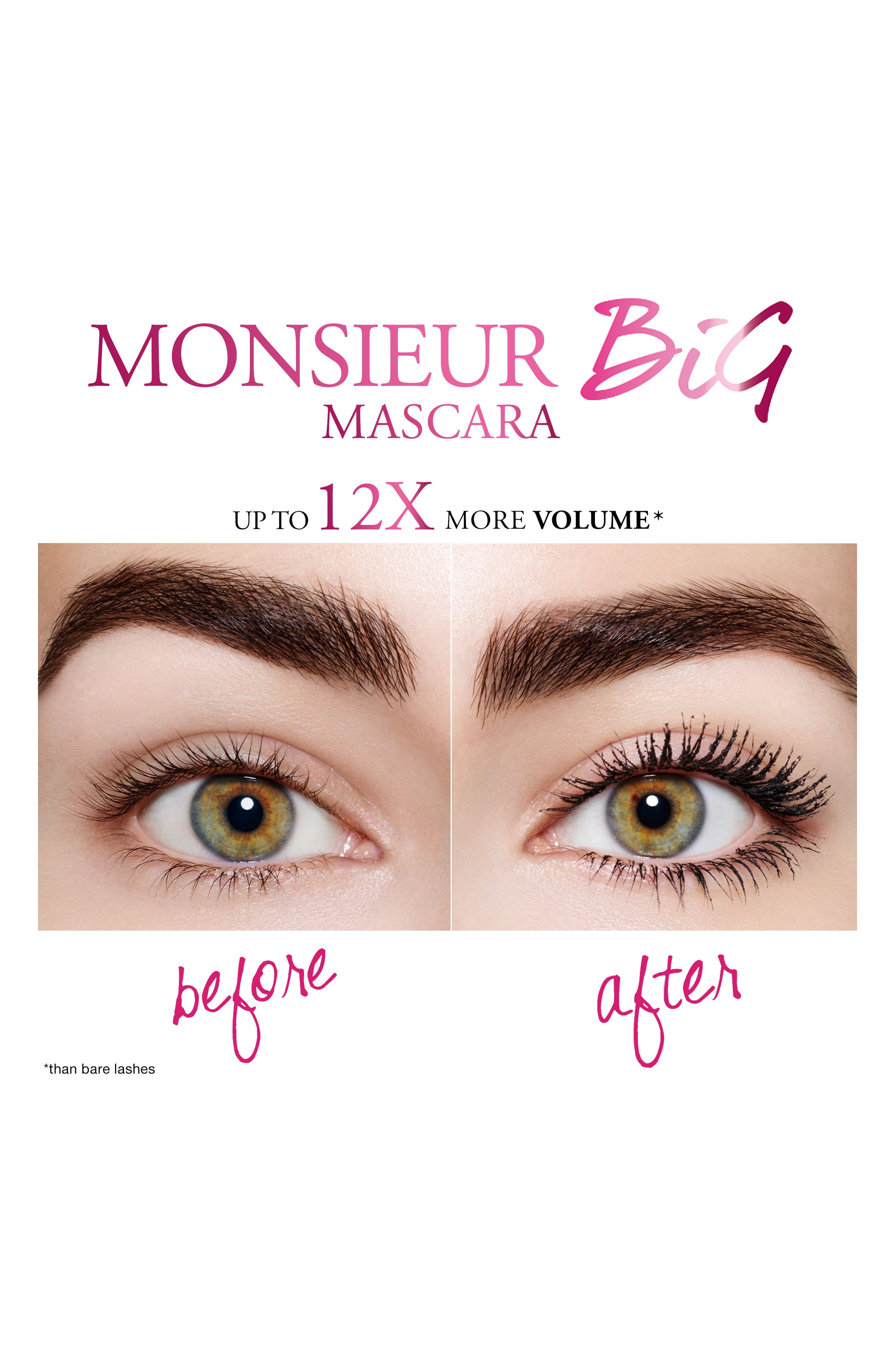 Monsieur Big Mascara,                             Alternate thumbnail 3, color,                             BROWN