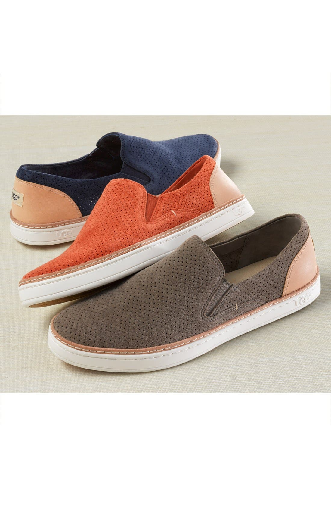 Adley Slip-On Sneaker,                             Alternate thumbnail 7, color,                             001