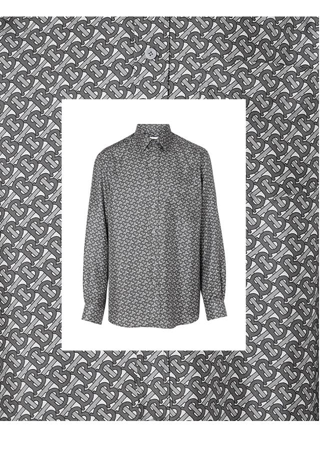 The perfect holiday party shirt is bold but not loud.