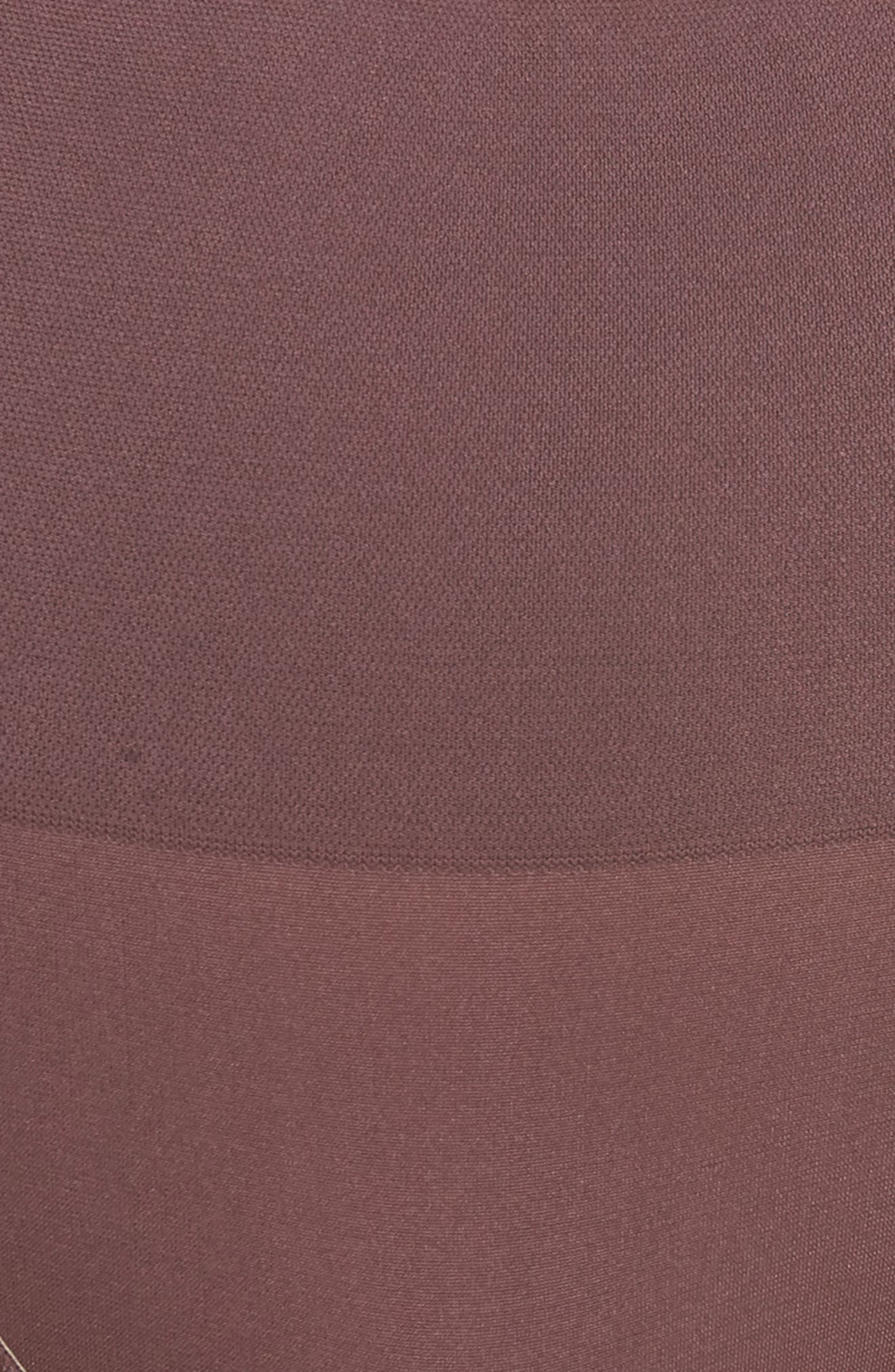 Ultralight Seamless Shaping Thong,                             Alternate thumbnail 5, color,                             HUCKLEBERRY