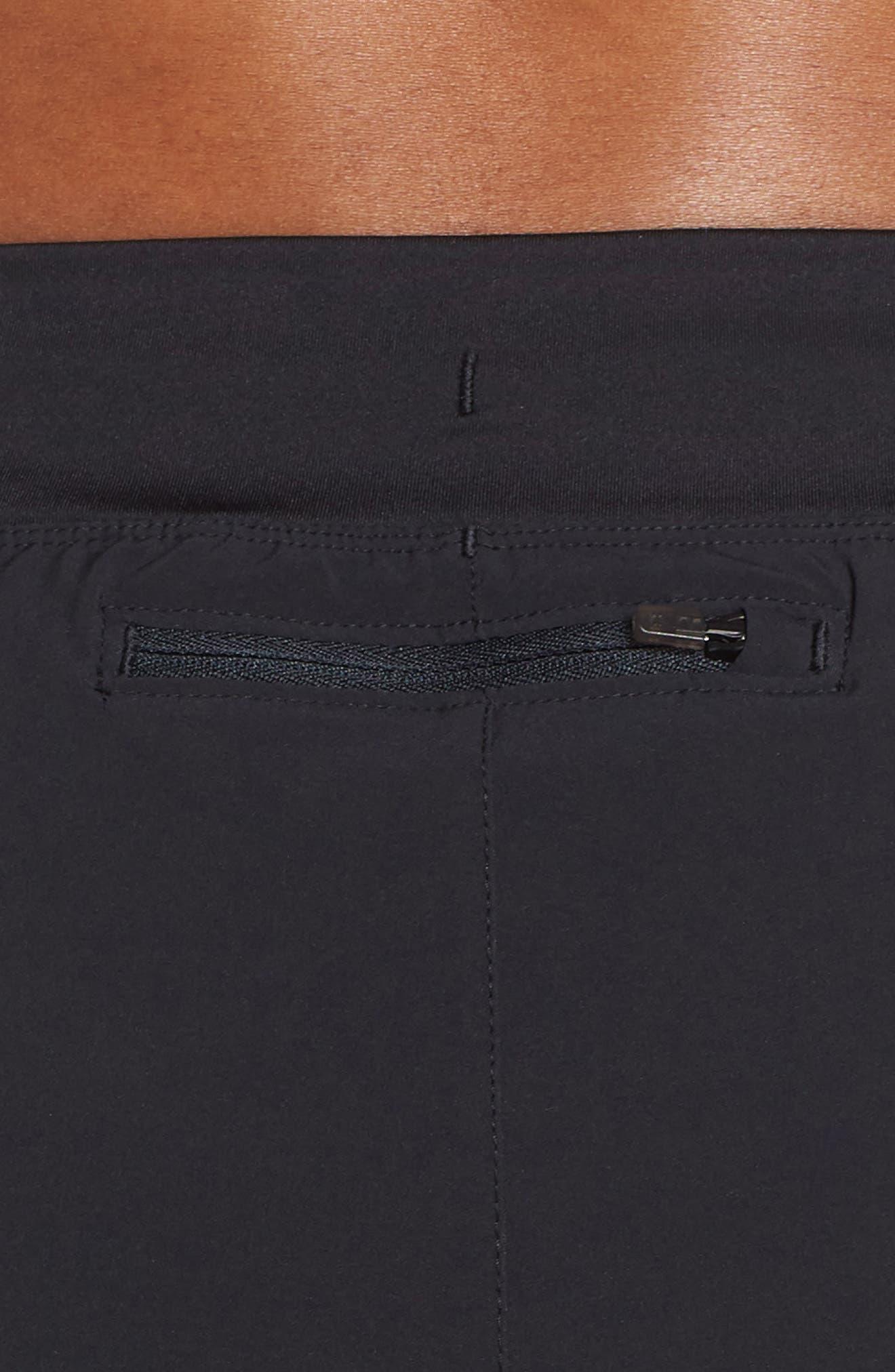 Speedpocket Shorts,                             Alternate thumbnail 4, color,                             BLACK/ BLACK/ REFLECTIVE