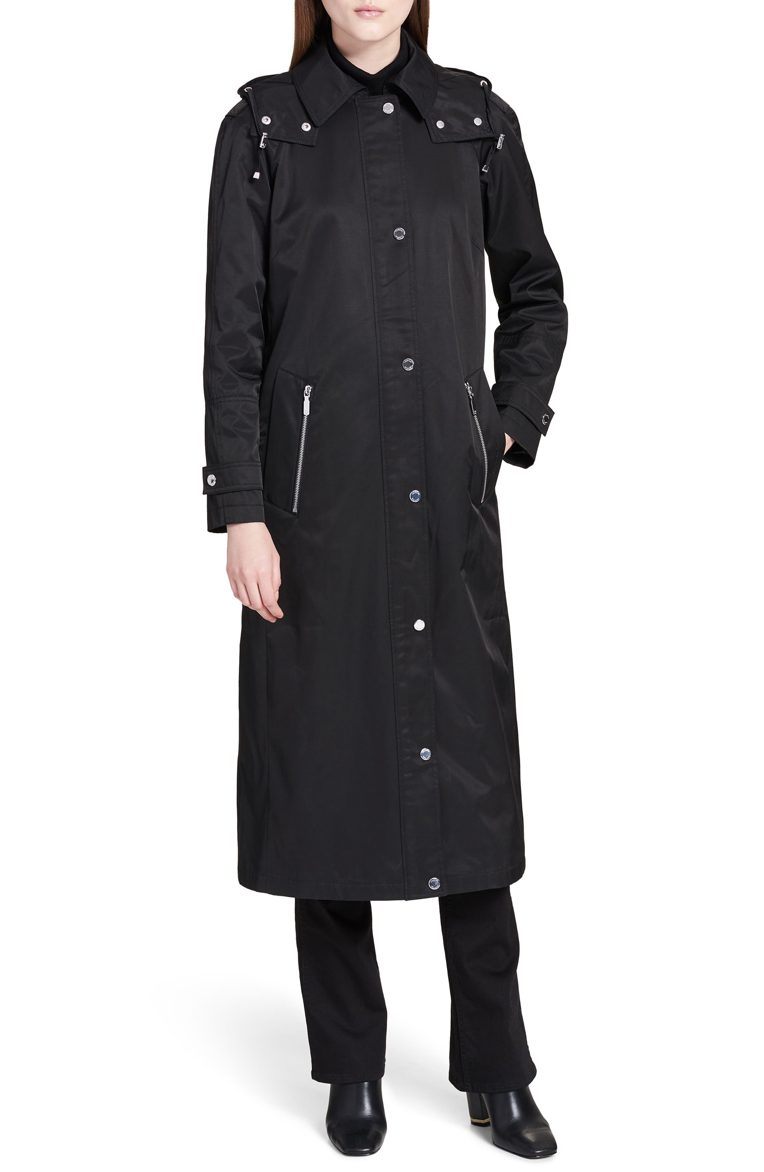 Maxi Raincoat,                         Main,                         color, 001