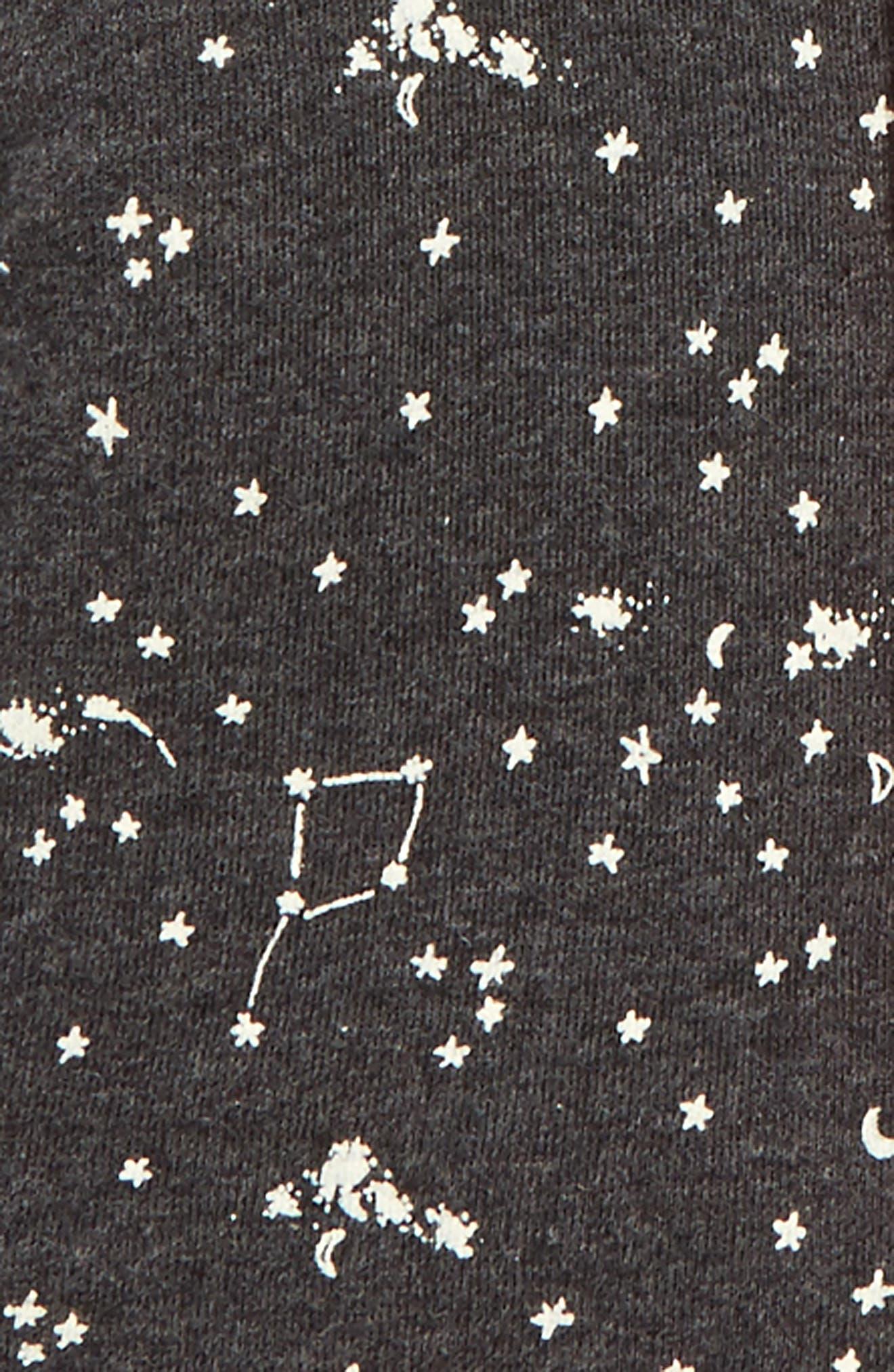 Burt's Bees Reversible Organic Cotton Hoodie,                             Alternate thumbnail 3, color,                             021