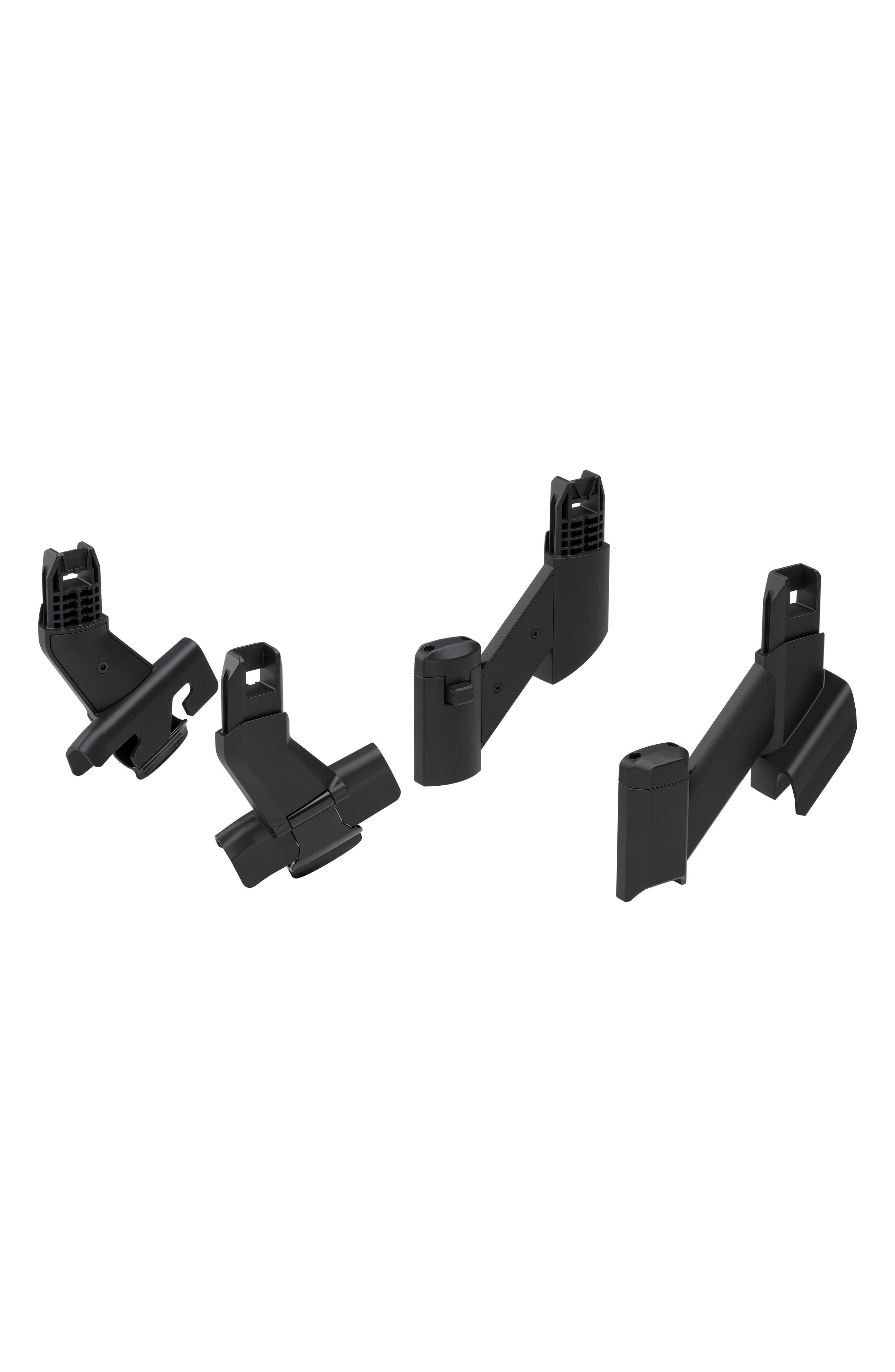 Sleek Sibling Adapter Kit for Thule Sleek Stroller,                             Main thumbnail 1, color,                             BLACK