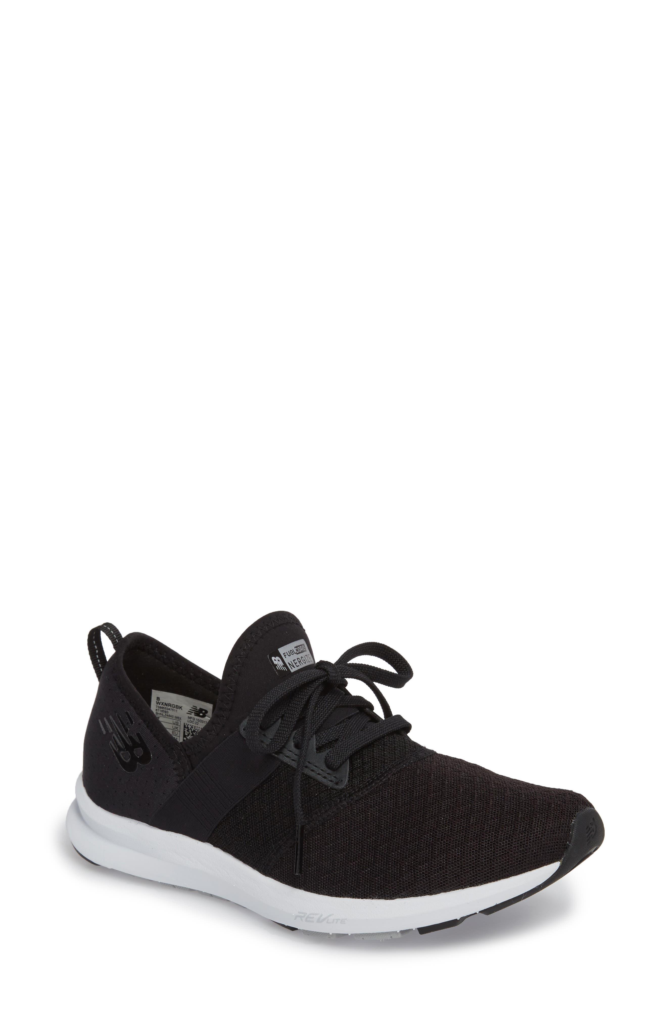 FuelCore NERGIZE Sneaker,                             Main thumbnail 1, color,                             BLACK
