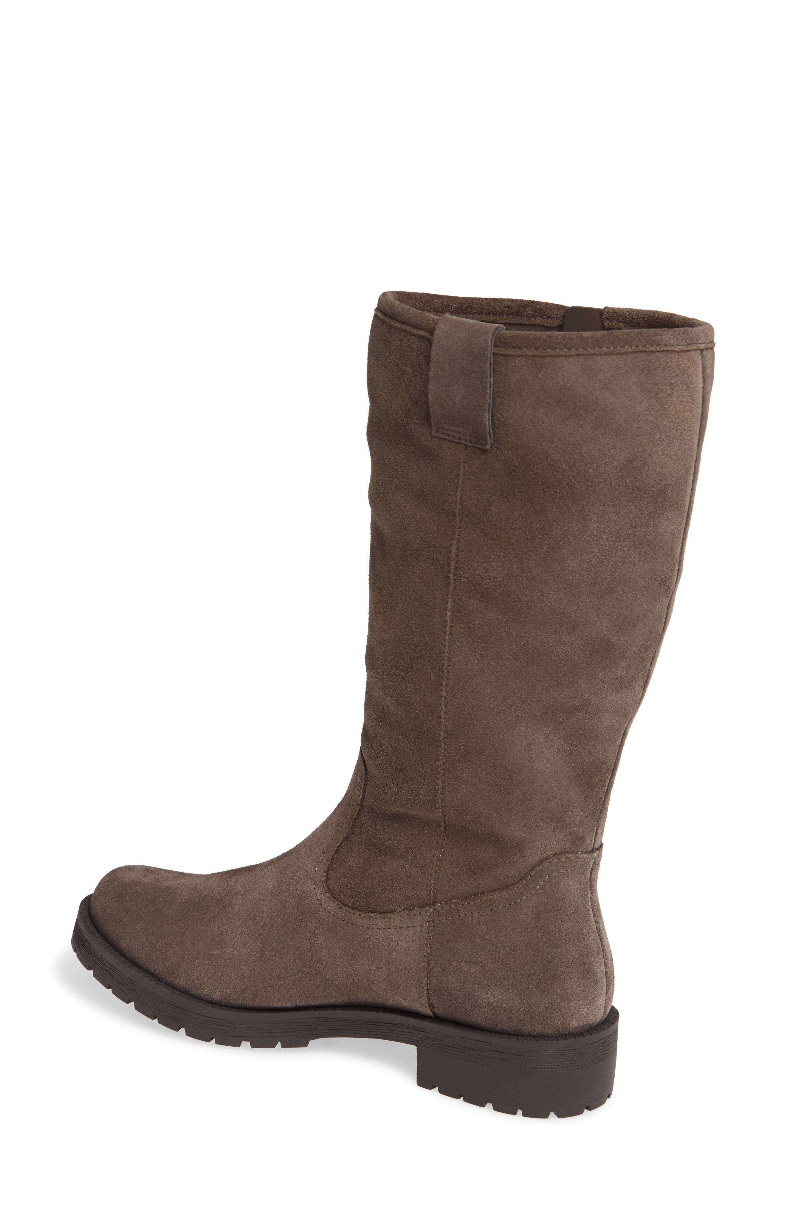 Mica Boot,                             Alternate thumbnail 2, color,                             GREIGE SUEDE