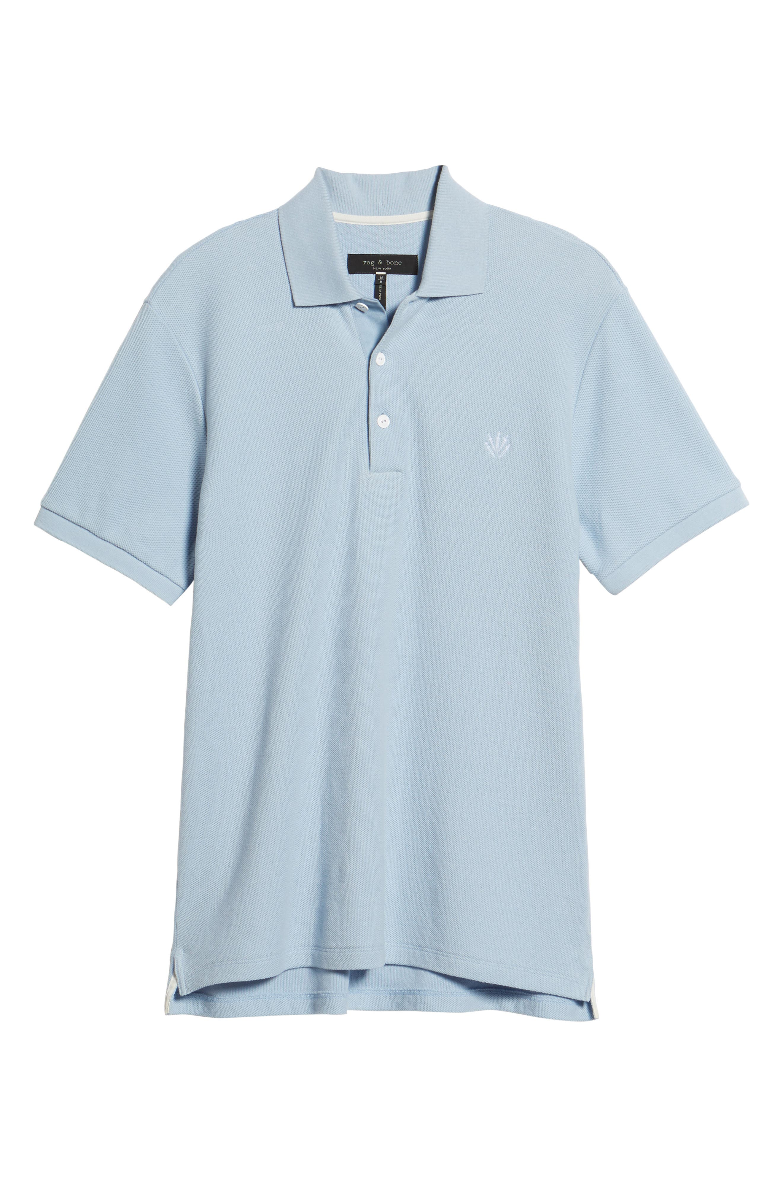 Regular Fit Polo,                             Alternate thumbnail 6, color,                             PALE PERWNKL