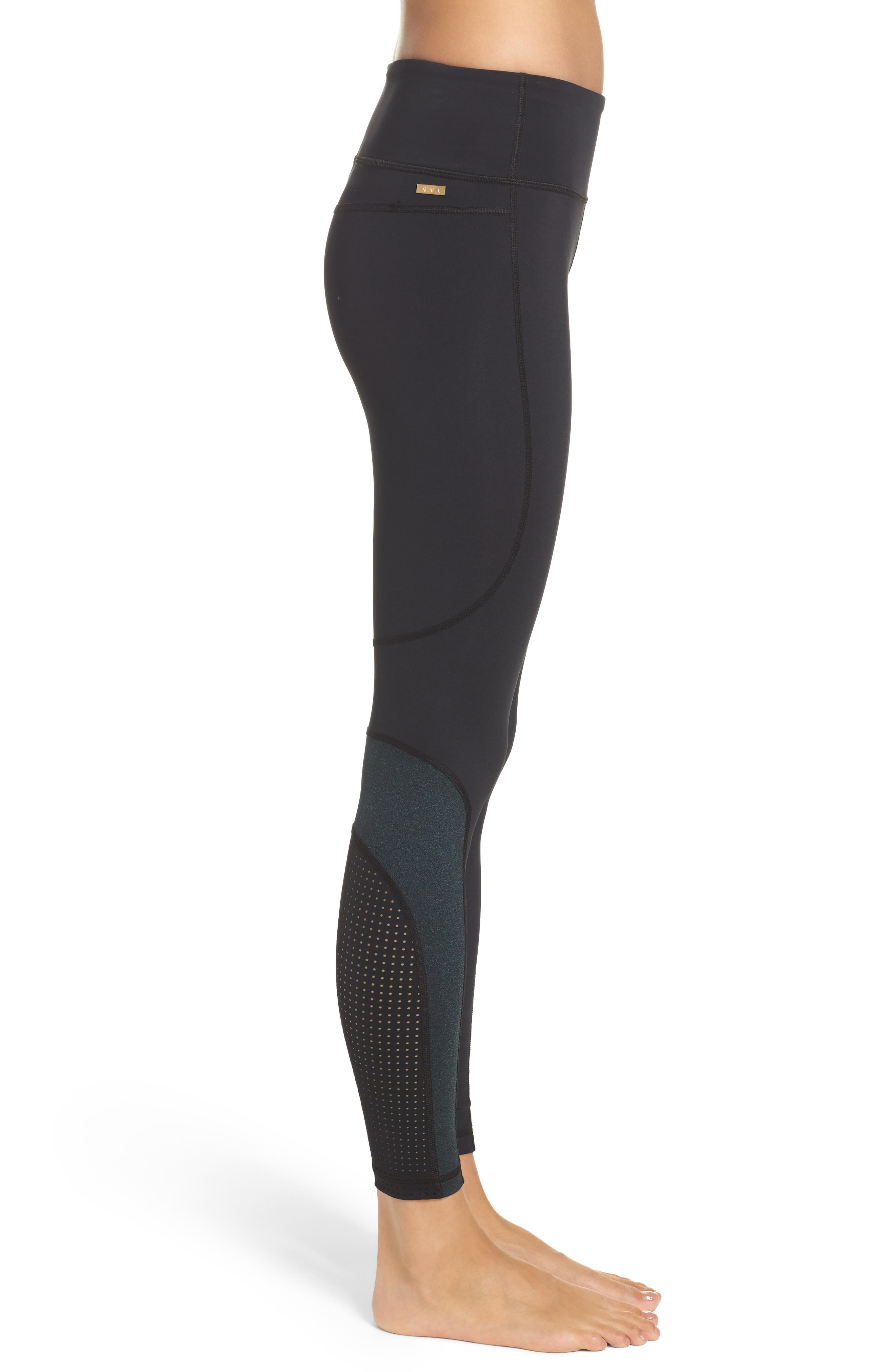 Siren Performance Tights,                             Alternate thumbnail 3, color,                             002