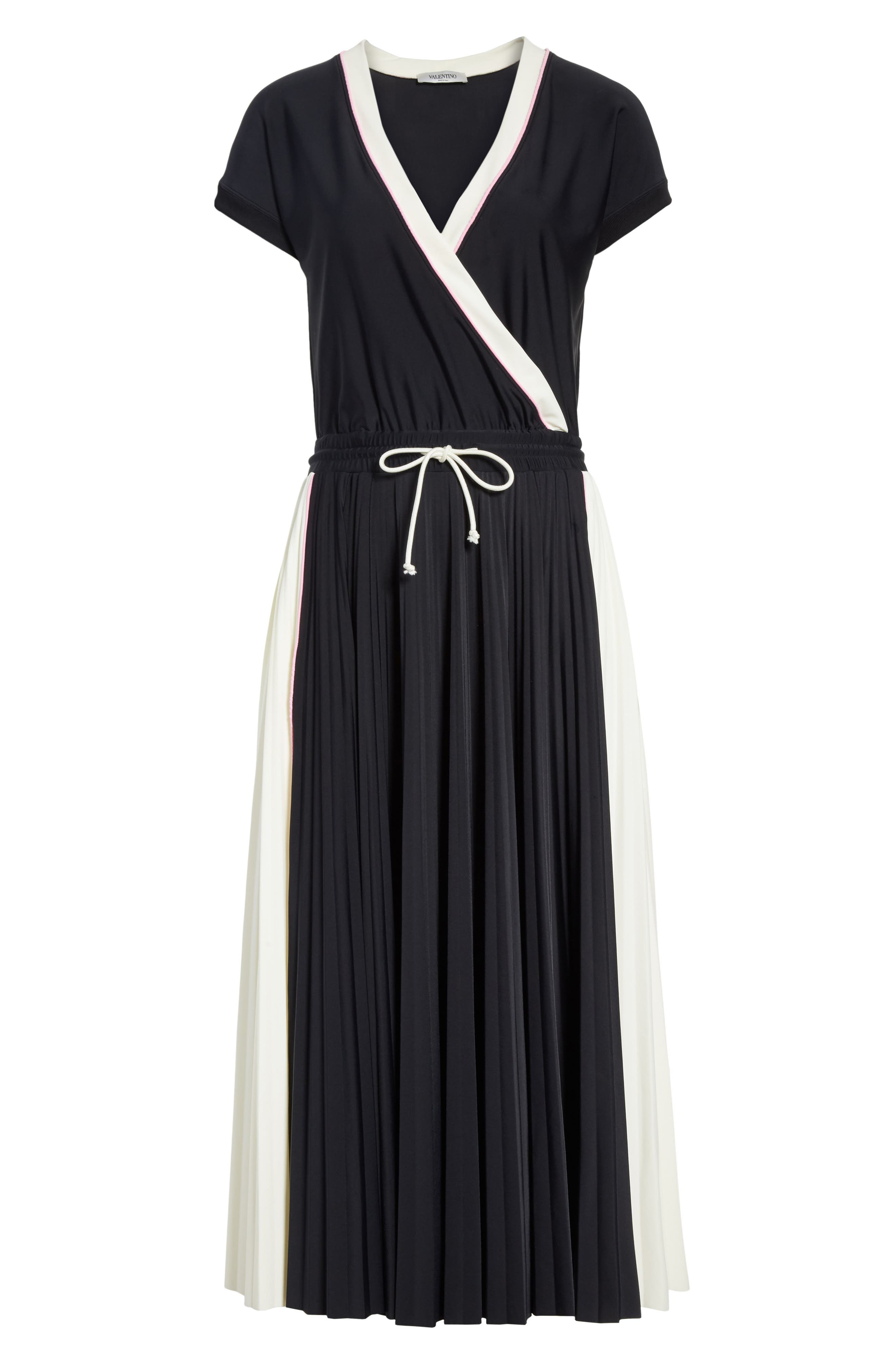 Sport Jersey Midi Dress,                             Alternate thumbnail 6, color,
