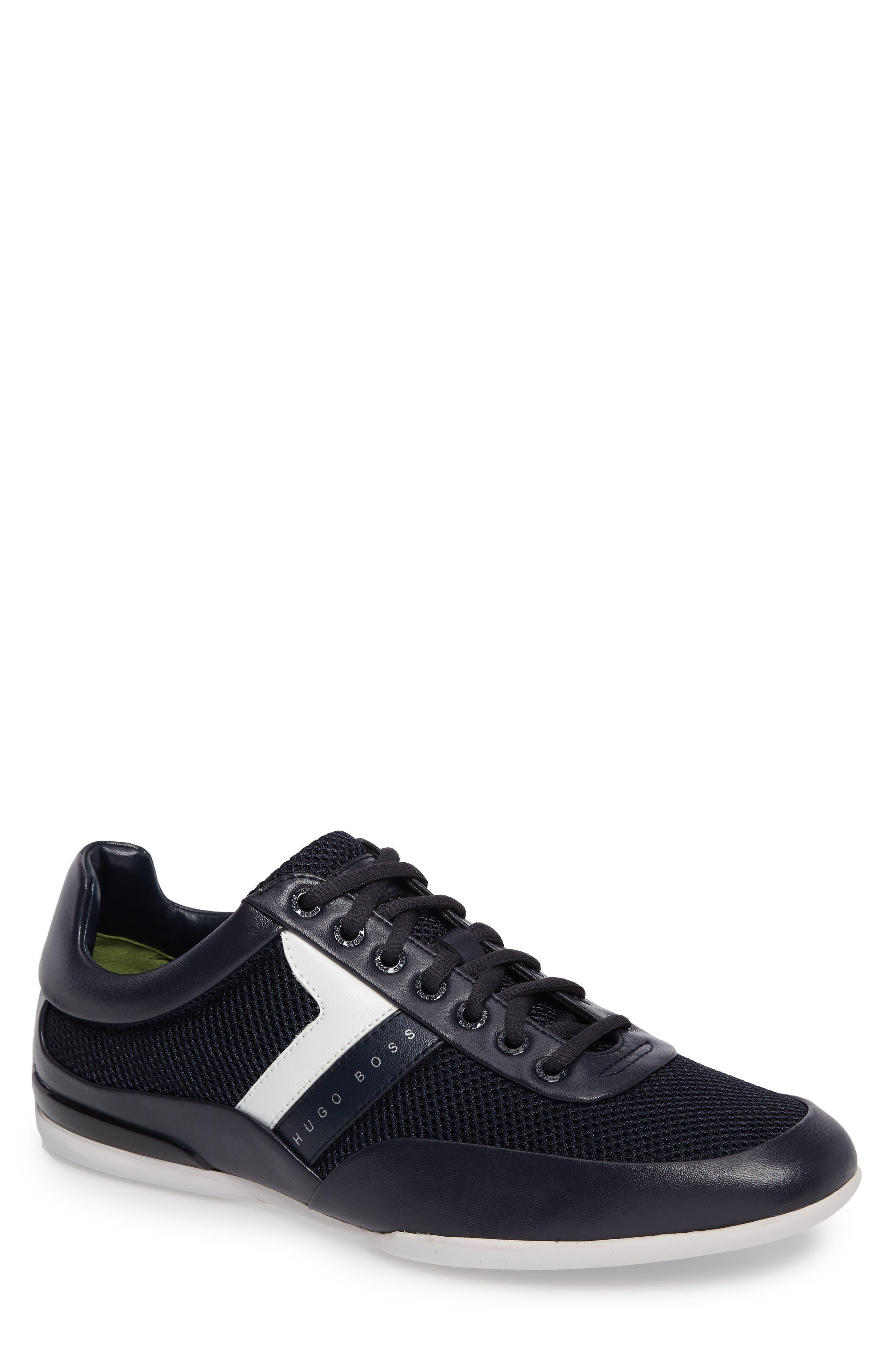 Green Space Mesh Sneaker,                             Main thumbnail 1, color,                             405