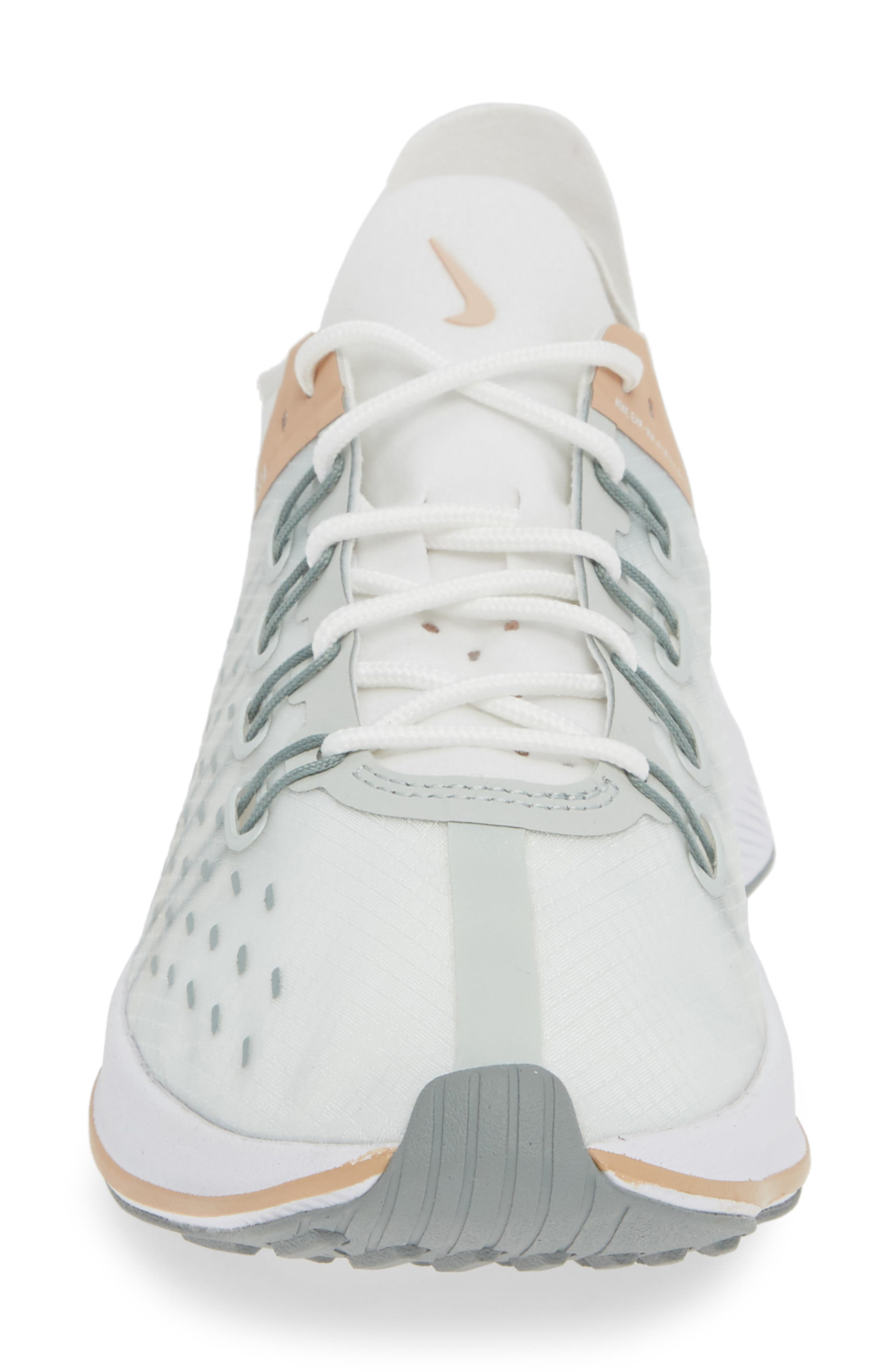 EXP-X14 Sneaker,                             Alternate thumbnail 4, color,                             SUMMIT WHITE/ LIGHT SILVER