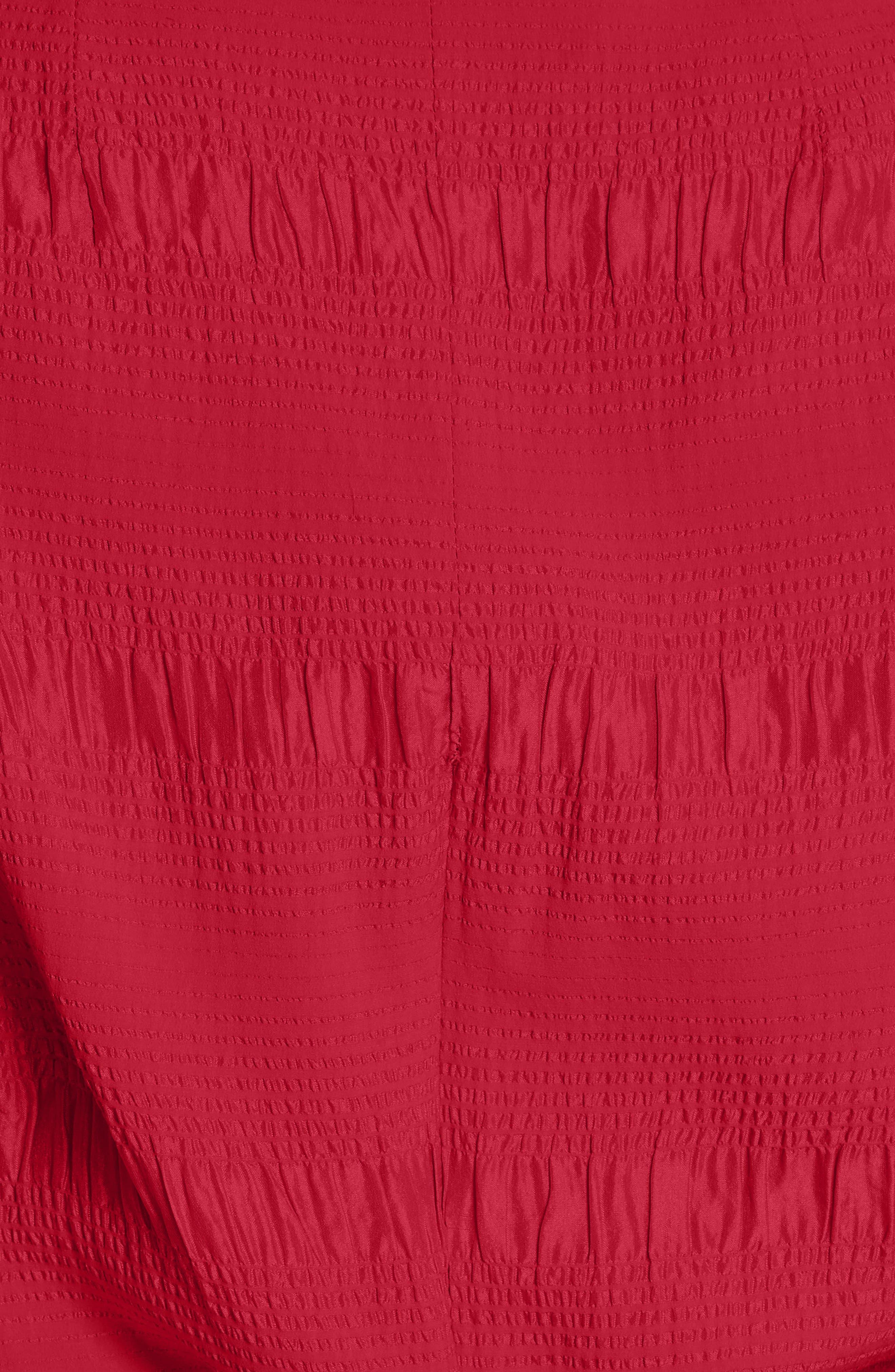 RACHEL COMEY,                             Bounds Tie Waist Silk Blend Top,                             Alternate thumbnail 5, color,                             600