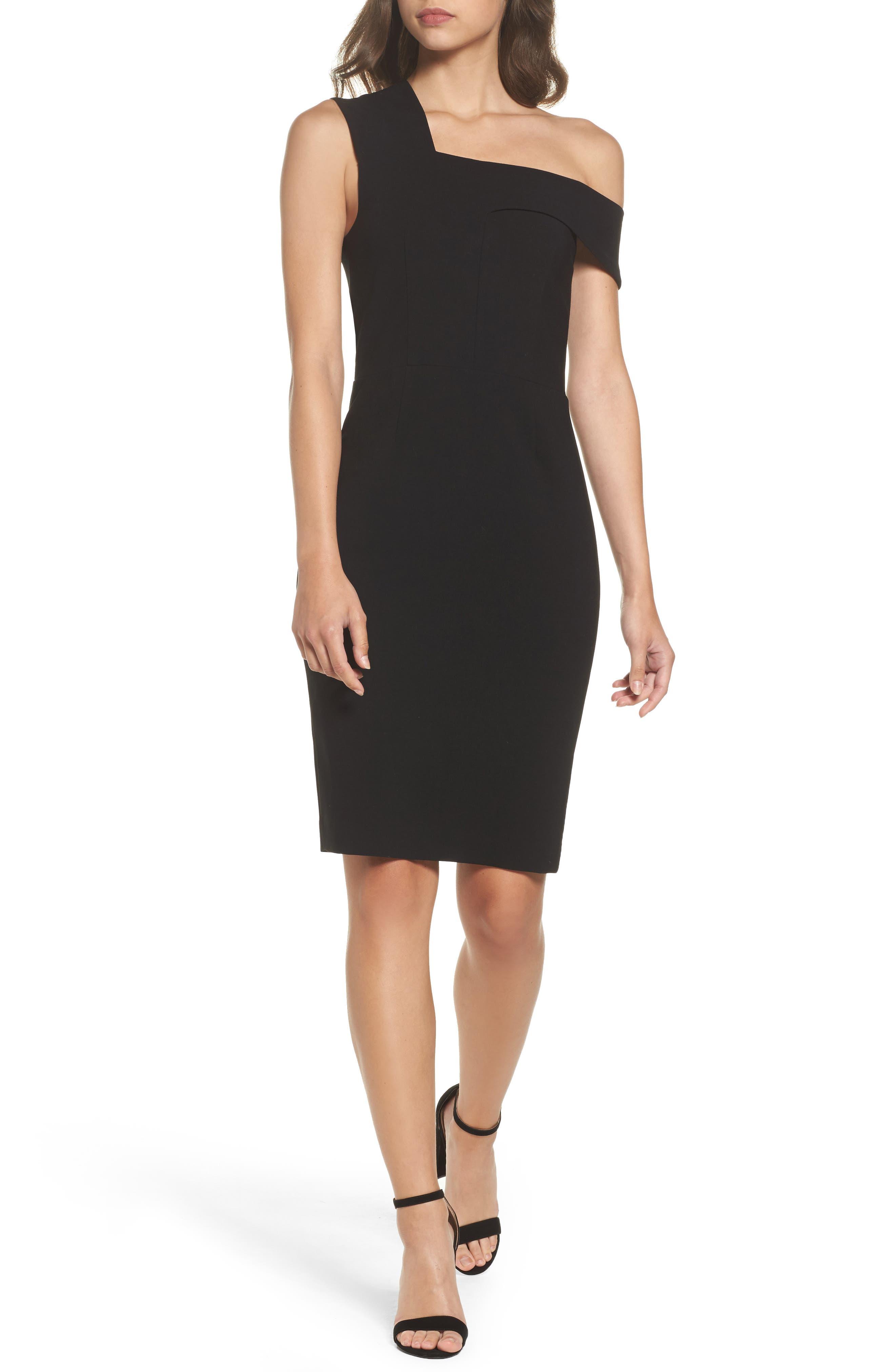 Whisper Ruth Off the Shoulder Sheath Dress,                         Main,                         color,