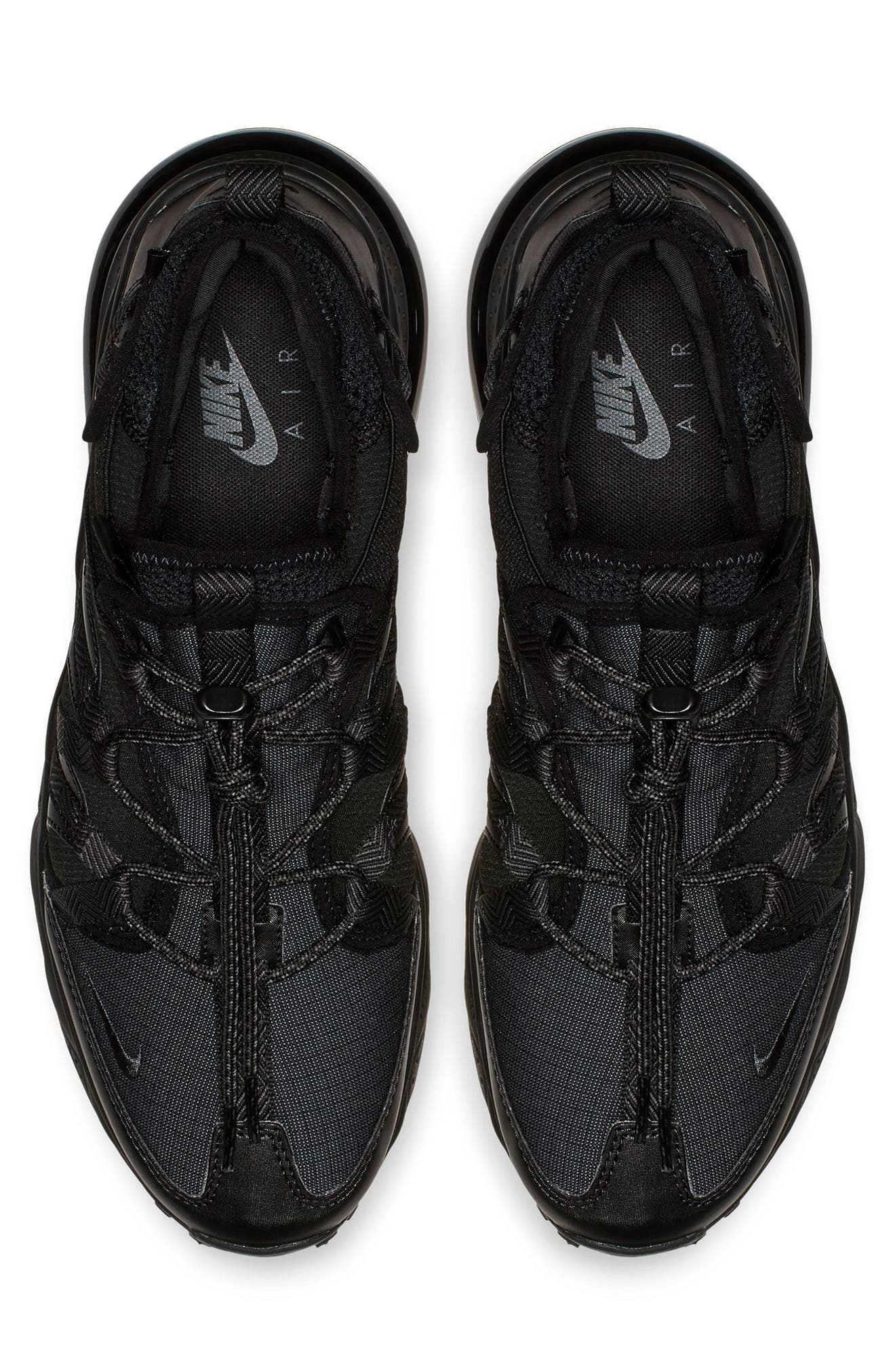 Air Max 270 Bowfin Sneaker,                             Alternate thumbnail 3, color,                             BLACK/ ANTHRACITE/ BLACK
