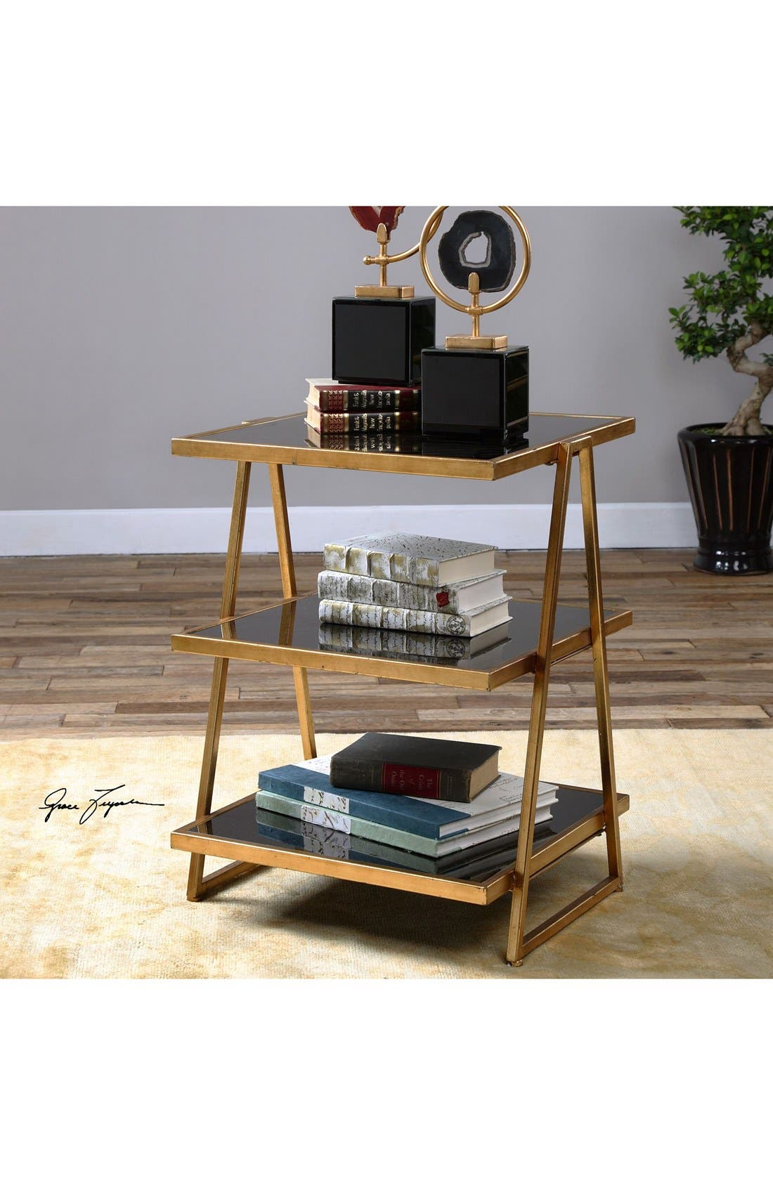 'Garrity' Accent Table,                             Alternate thumbnail 3, color,                             710