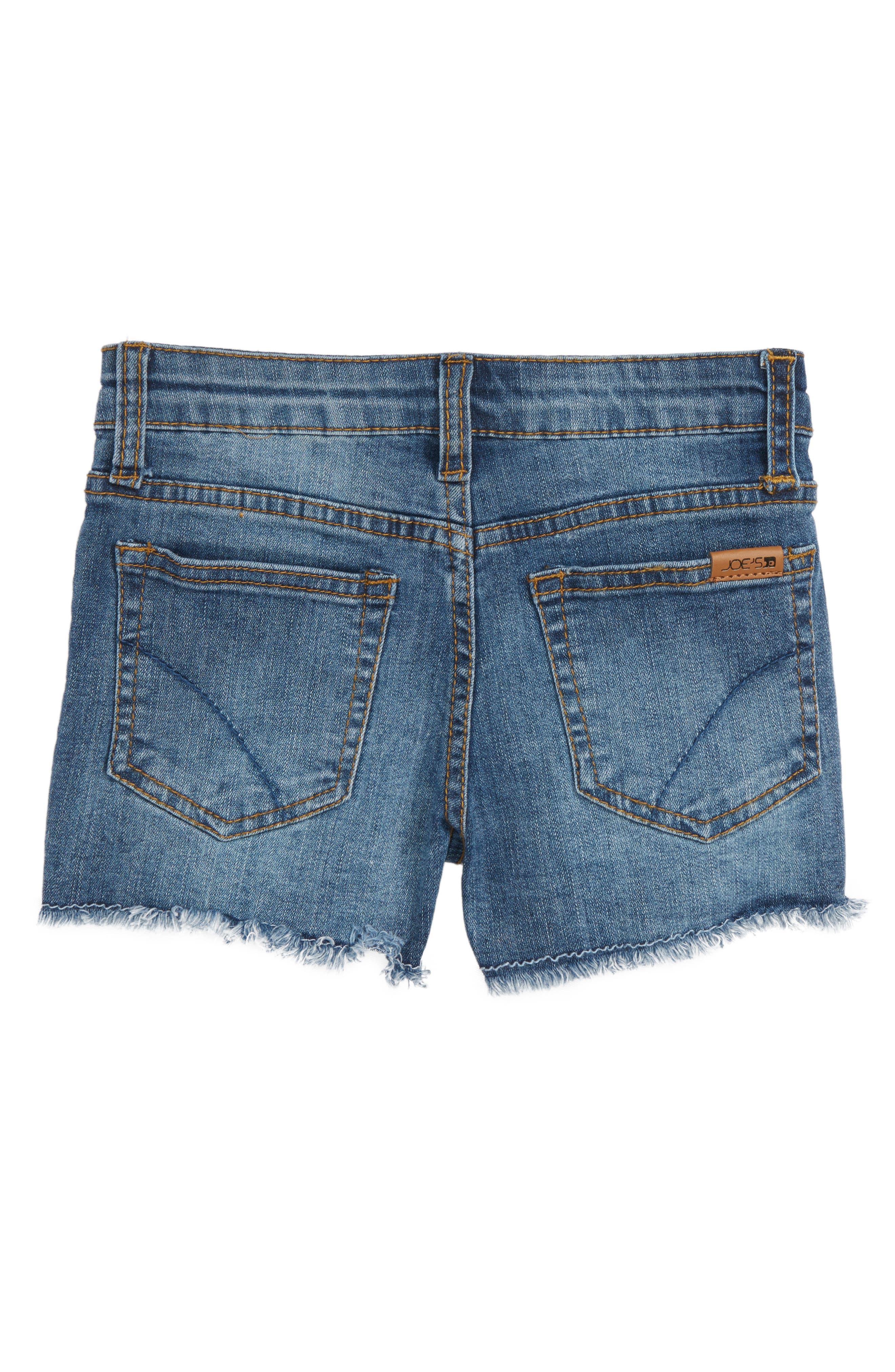 Markie Cutoff Denim Shorts,                             Alternate thumbnail 5, color,