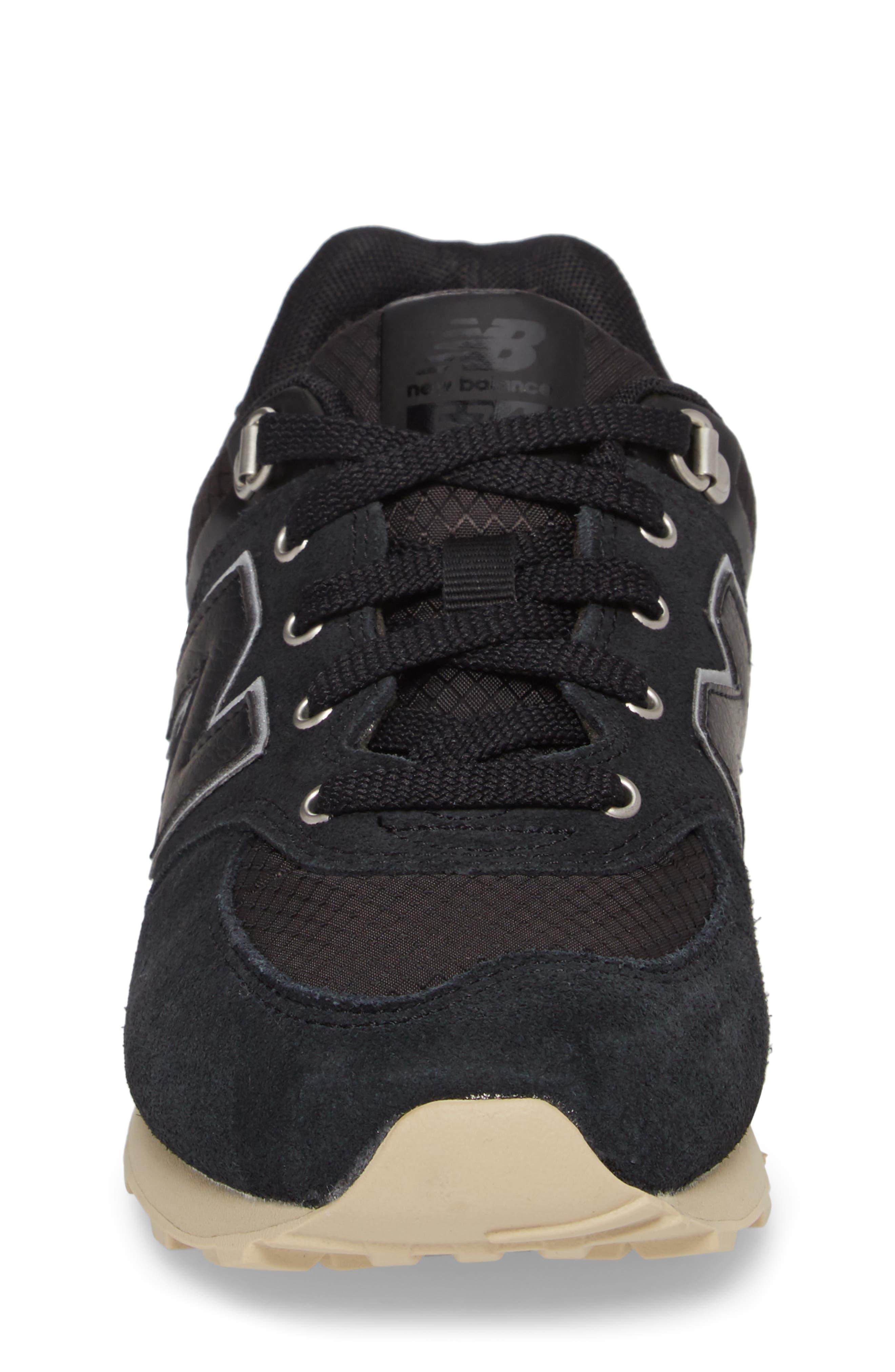 574 Sneaker,                             Alternate thumbnail 4, color,                             001