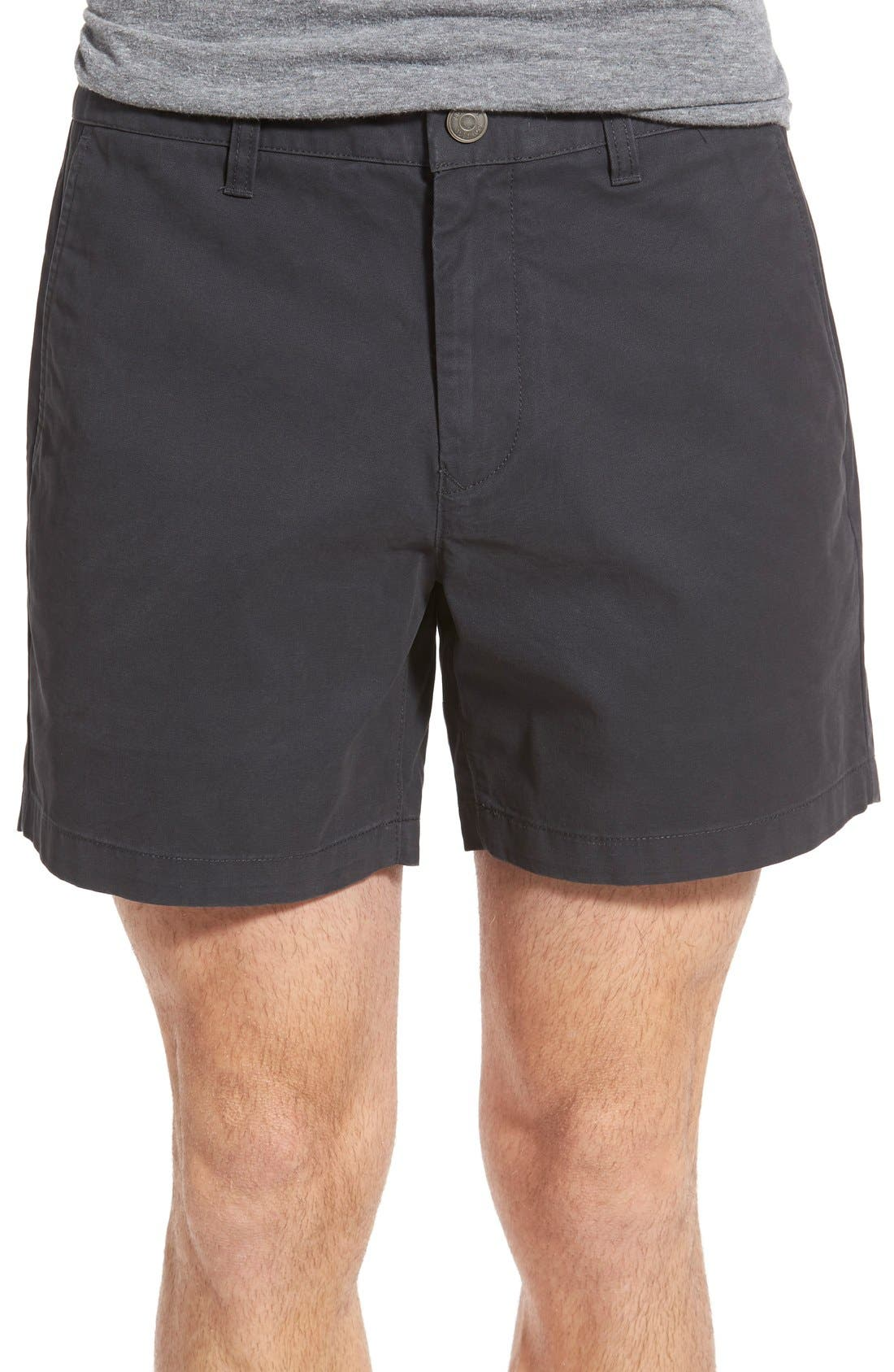 Washed Chino Shorts, Main, color, 001