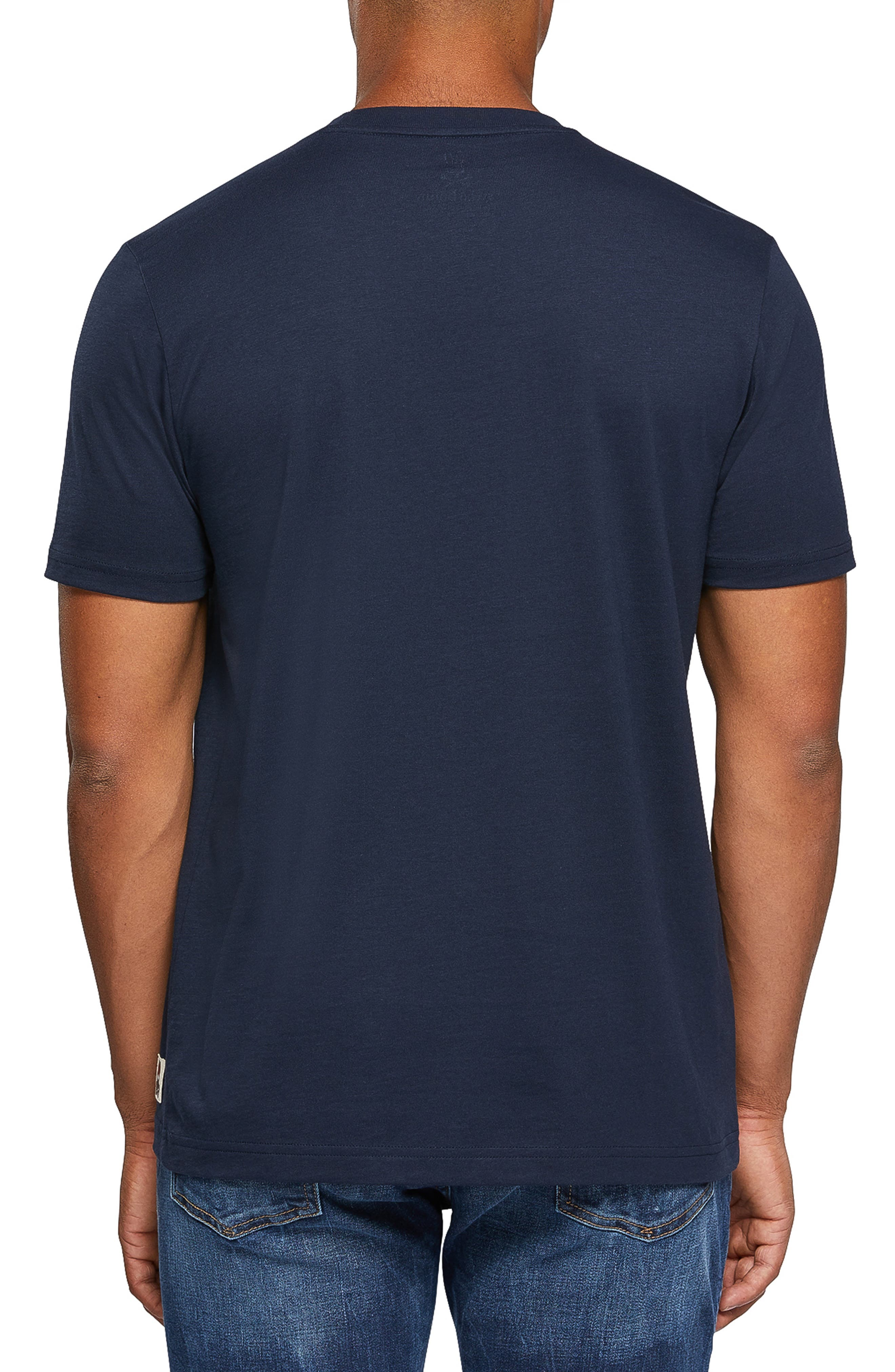 Logo Graphic T-Shirt,                             Alternate thumbnail 2, color,                             NAVY