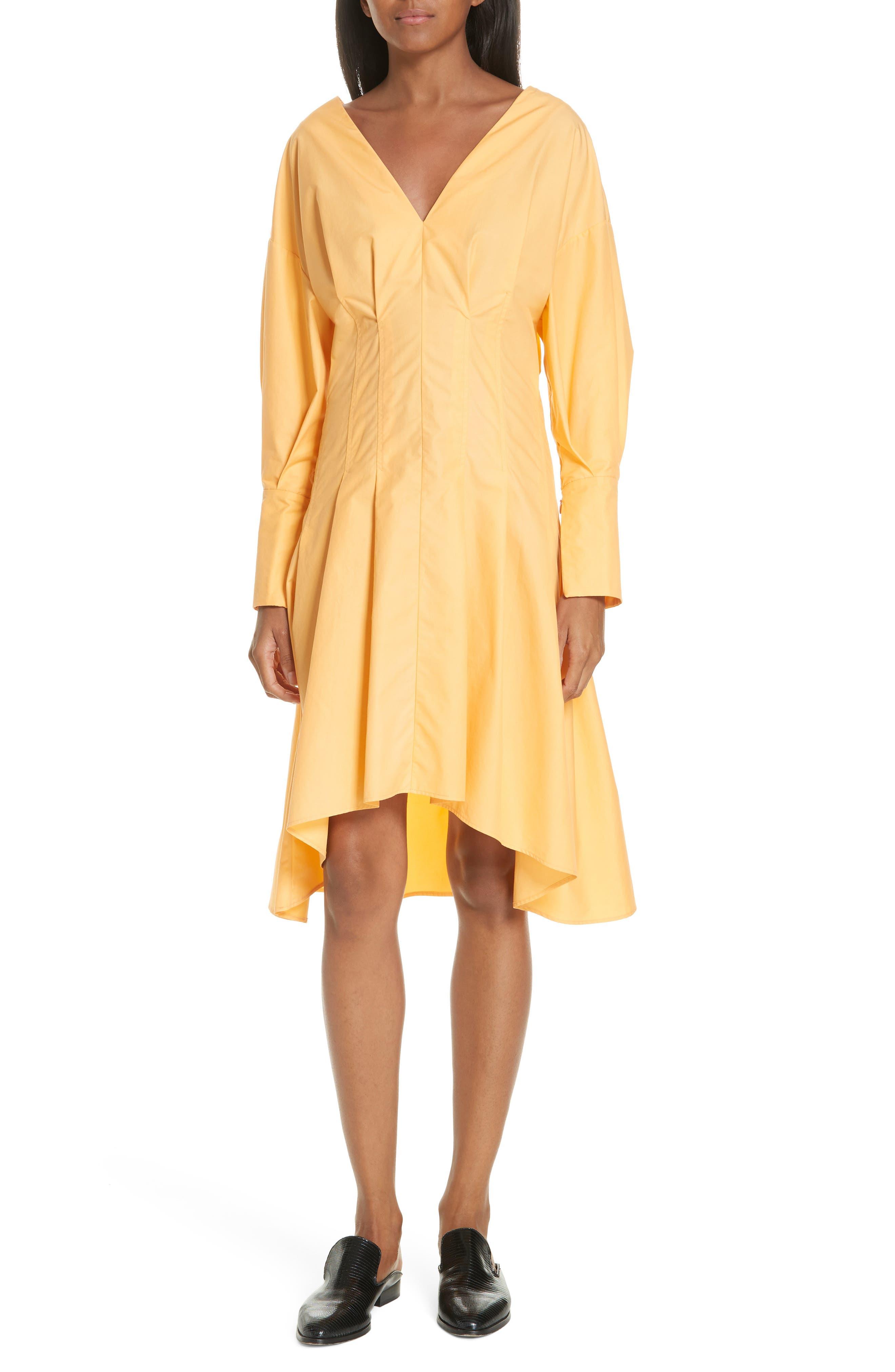 Ji Oh GATHERED PUFF DRESS