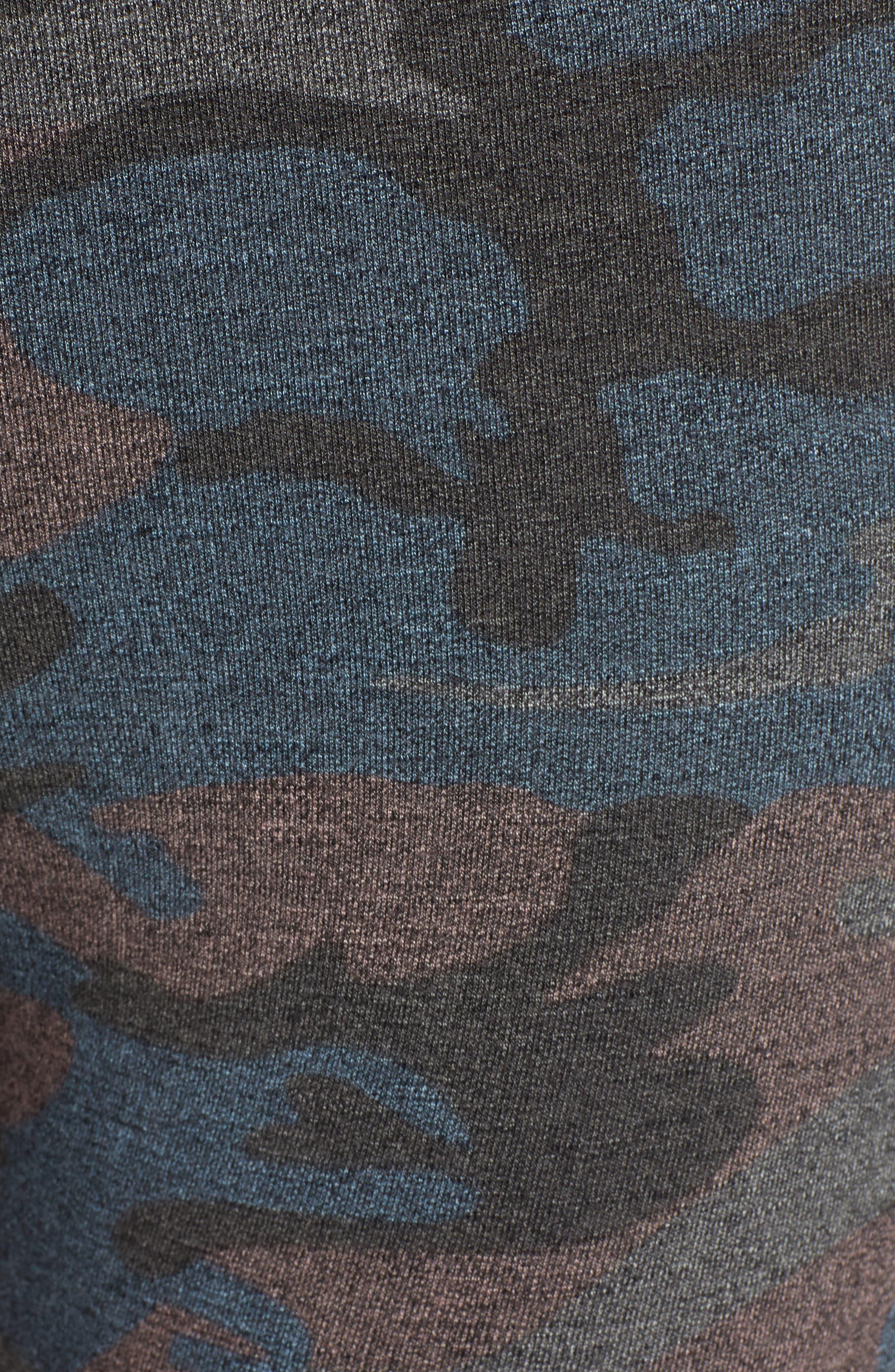 SUNDRY,                             Camo Yoga Pants,                             Alternate thumbnail 5, color,                             020