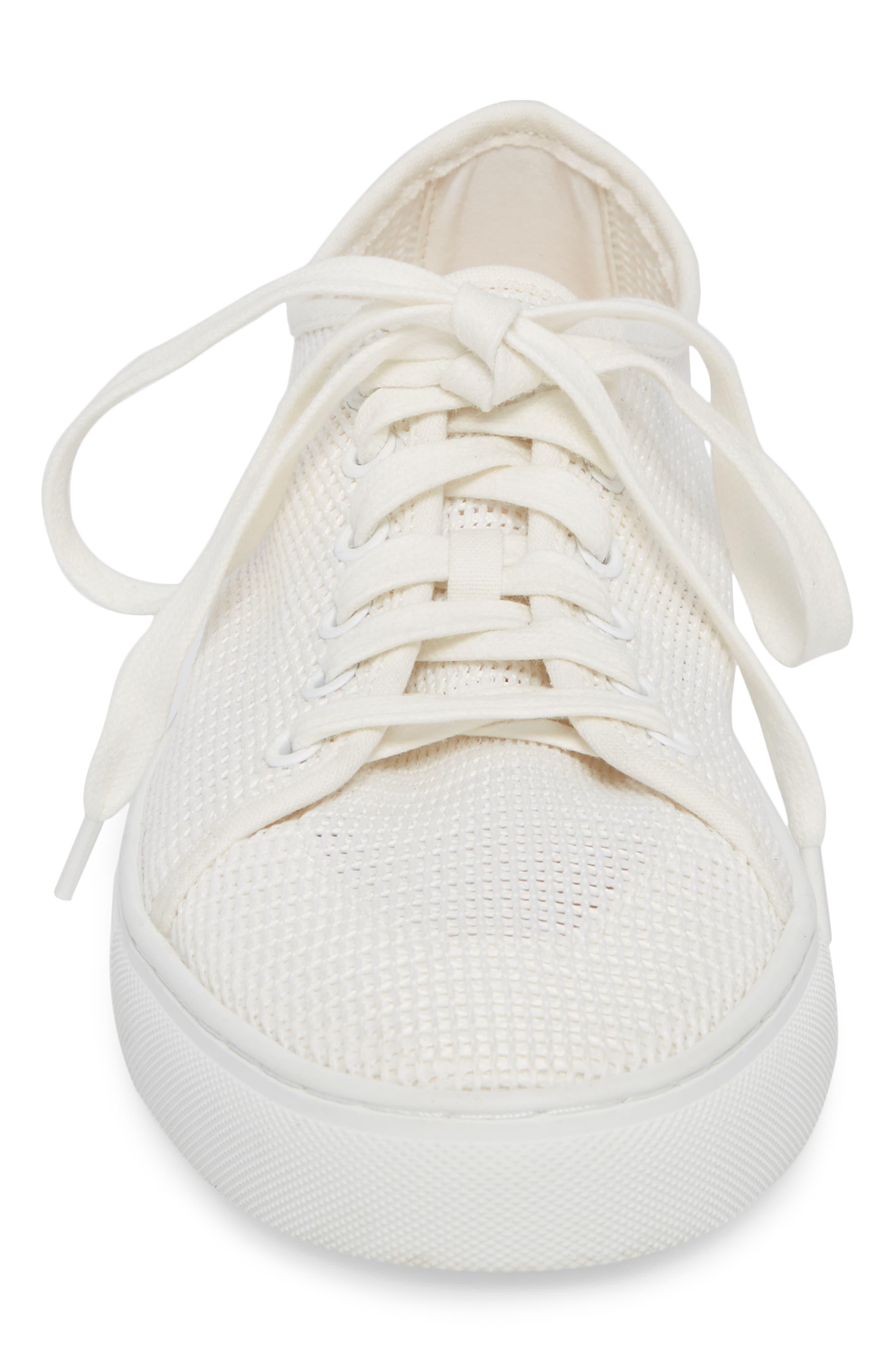 Abel Mesh Sneaker,                             Alternate thumbnail 4, color,                             100