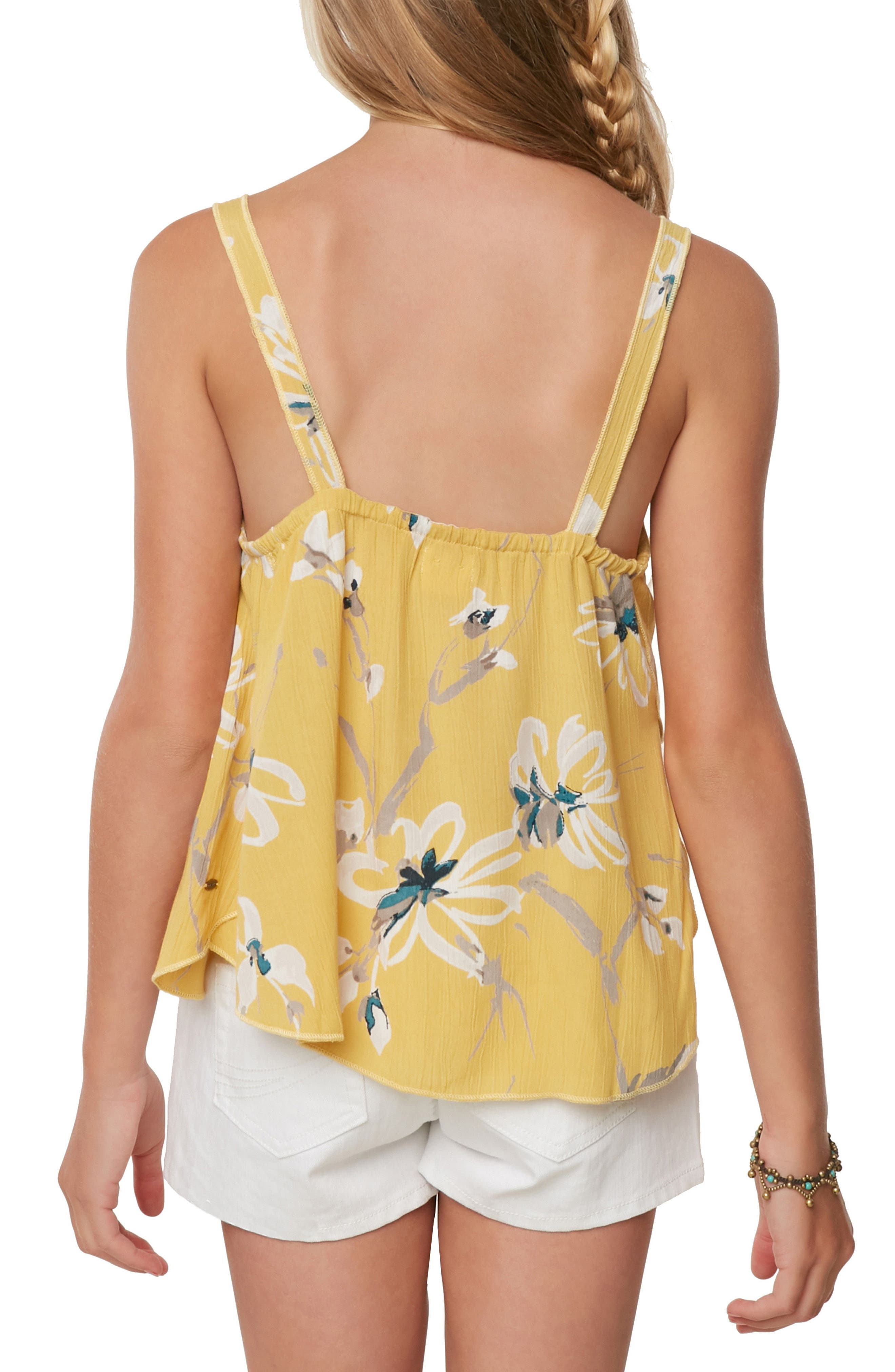 Taylen Floral Tank,                             Alternate thumbnail 4, color,                             709