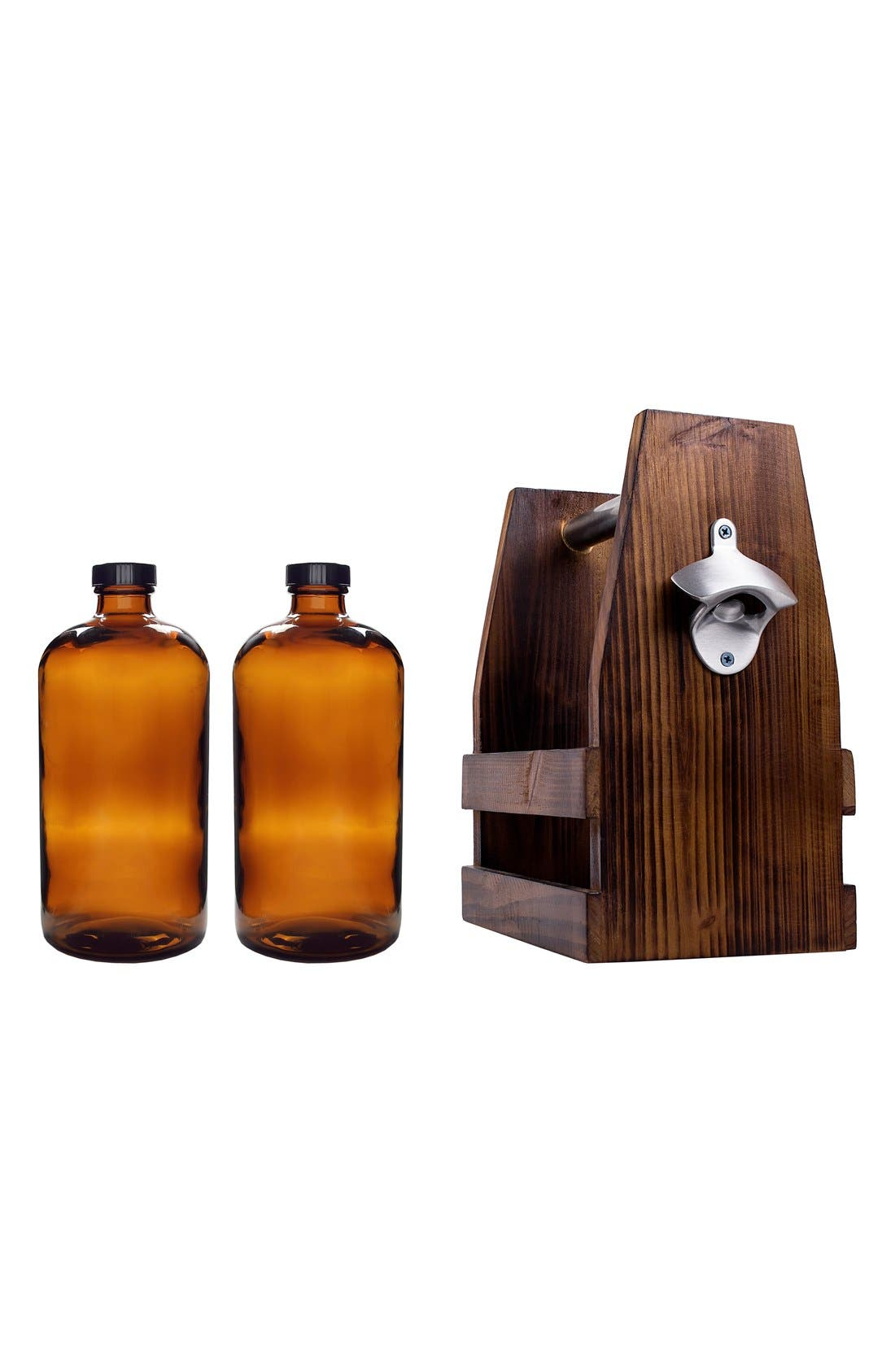 Personalized Craft Beer Carrier & Growlers,                             Main thumbnail 1, color,                             200