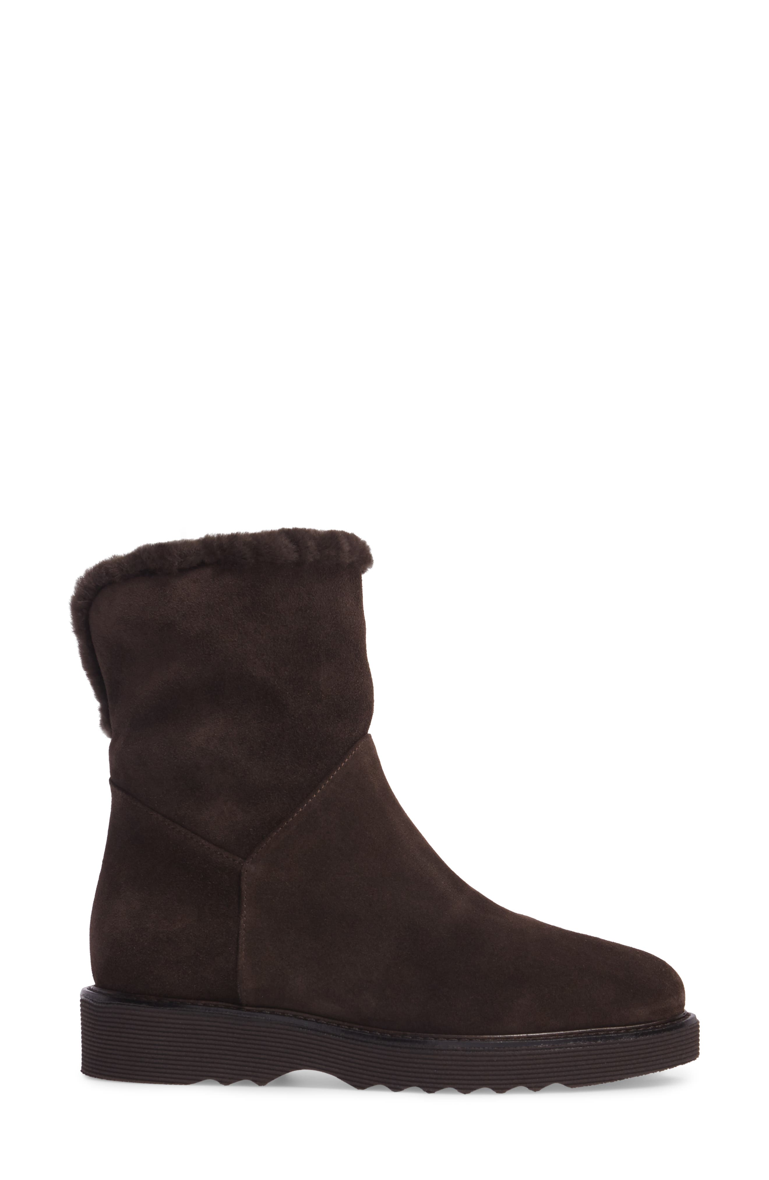 Kimberly Weatherproof Genuine Shearling Bootie,                             Alternate thumbnail 12, color,