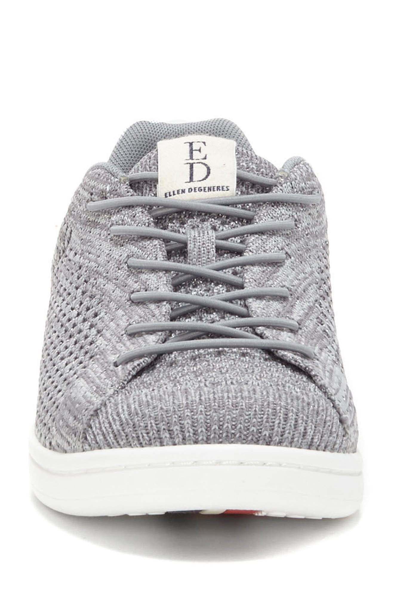 Casie Knit Sneaker,                             Alternate thumbnail 4, color,                             040