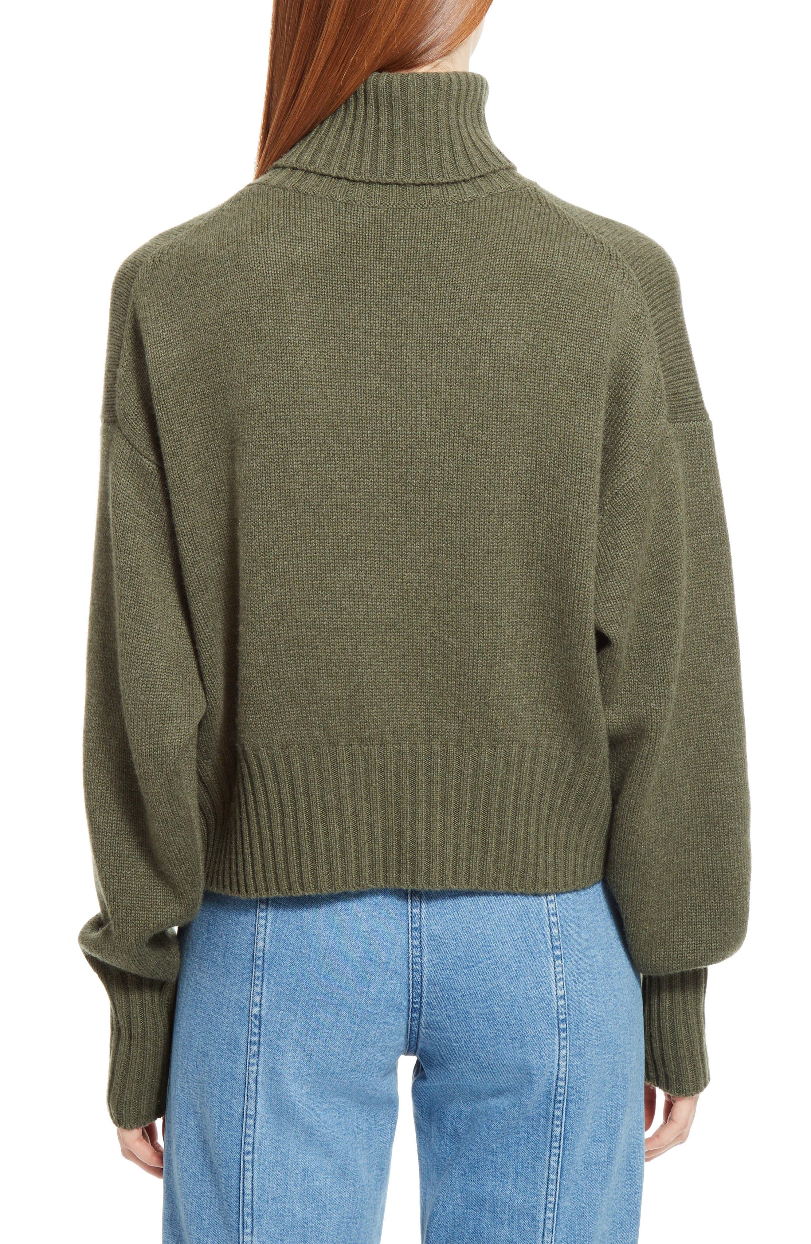 Iconic Cashmere Turtlenck Sweater,                             Alternate thumbnail 2, color,                             301