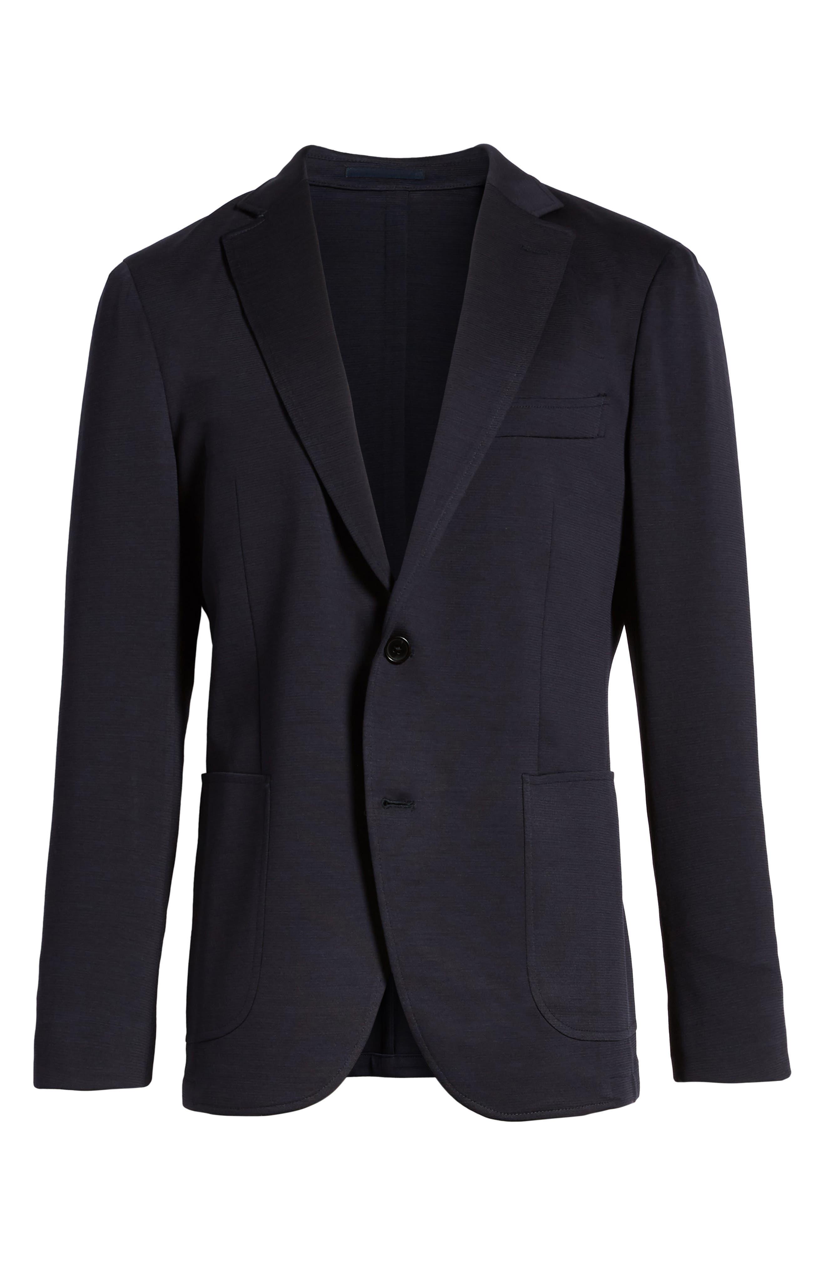 Cardrona Slim Fit Wool Blend Blazer,                             Alternate thumbnail 5, color,                             460