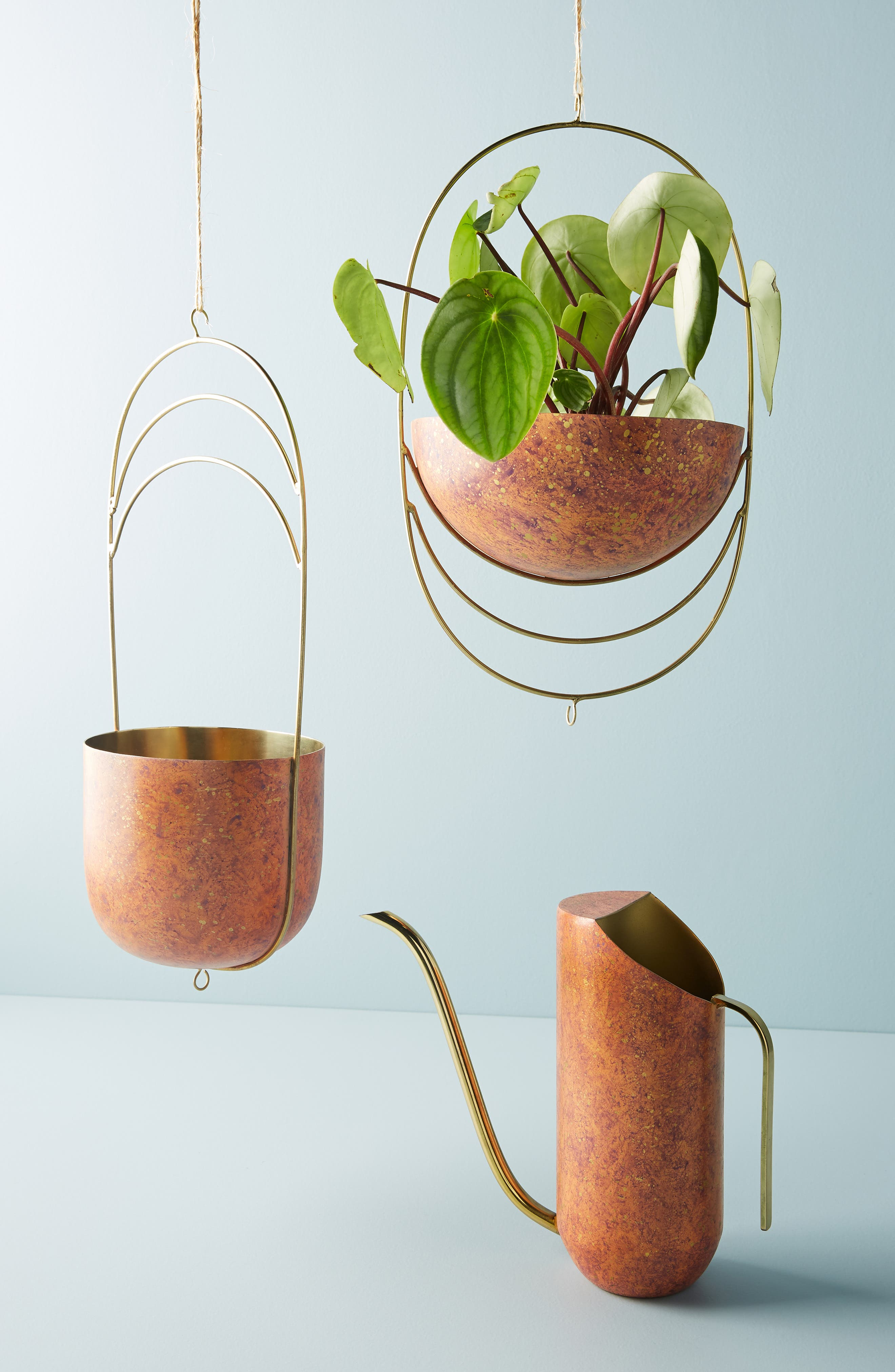 ANTHROPOLOGIE,                             Ursula Watering Can,                             Alternate thumbnail 2, color,                             COPPER