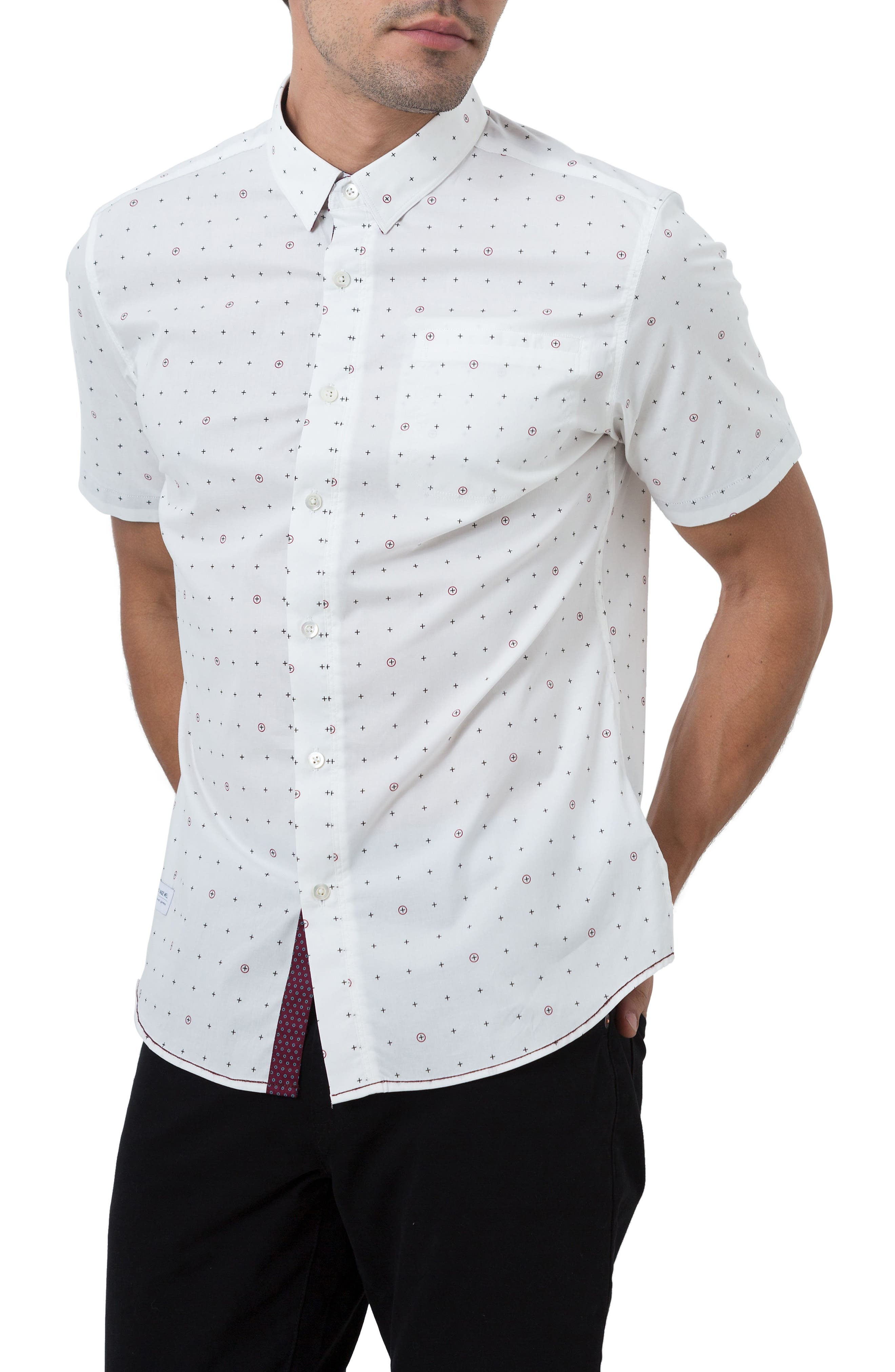 Holiday in Spain Woven Shirt,                         Main,                         color, 109