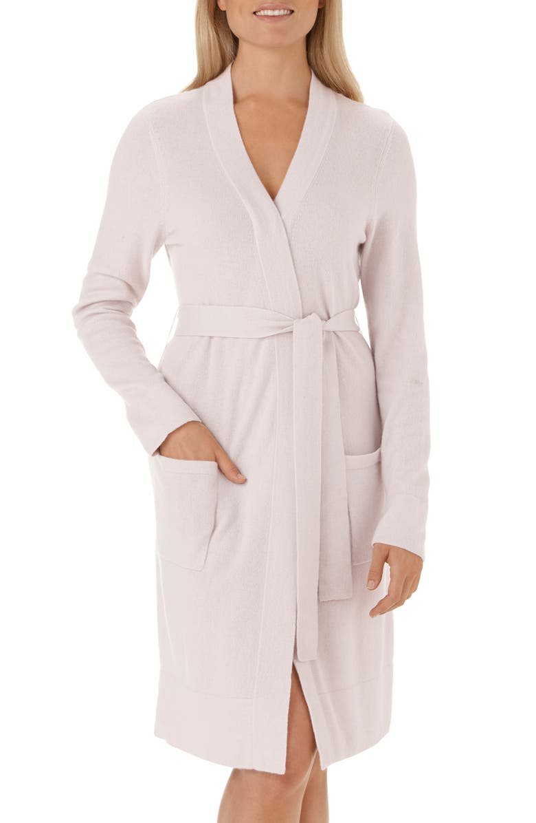 The White Company Cashmere Short Robe | Nordstrom