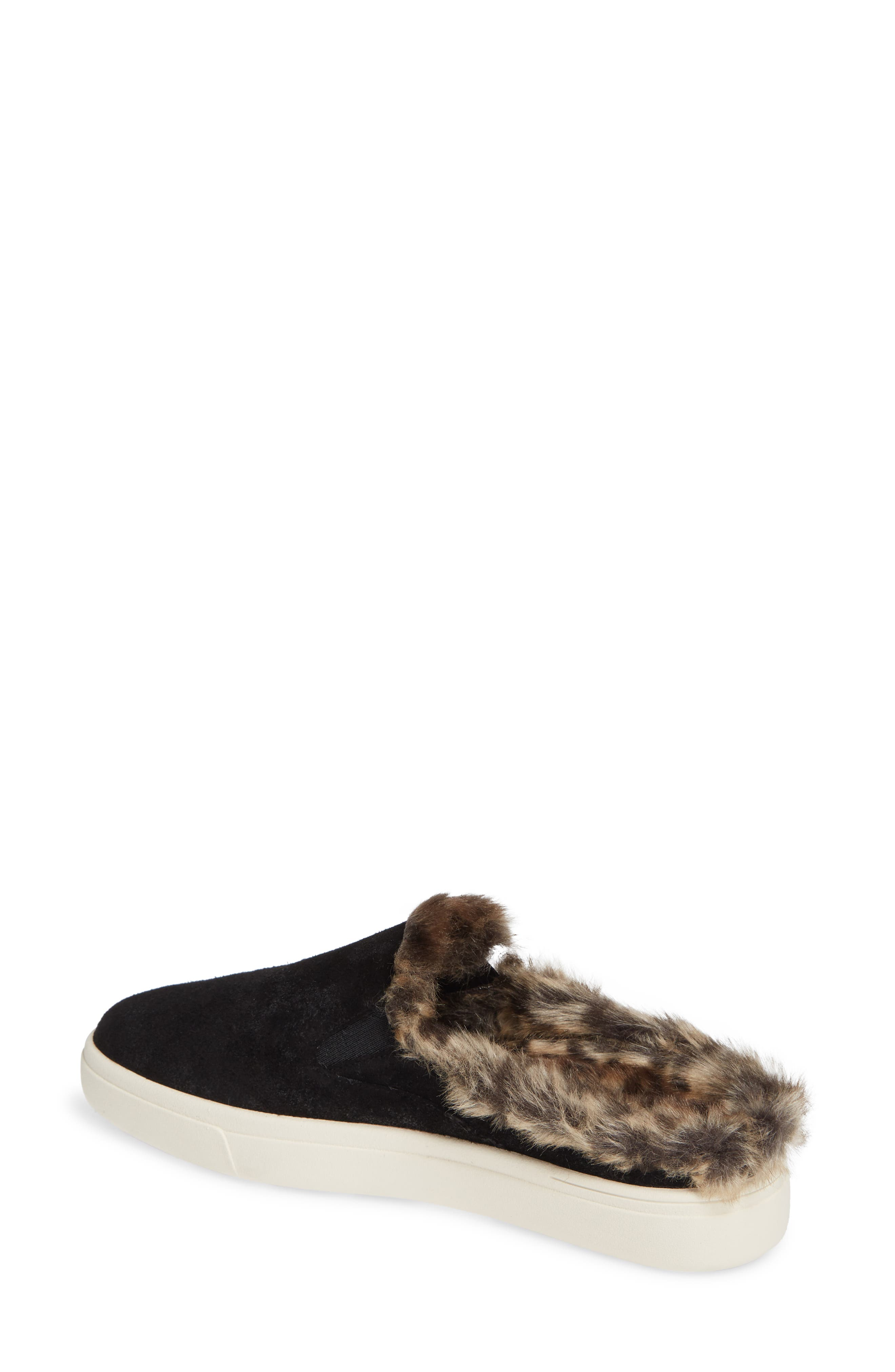 VANELI,                             Yasir Slip-On Sneaker,                             Alternate thumbnail 2, color,                             BLACK SUEDE