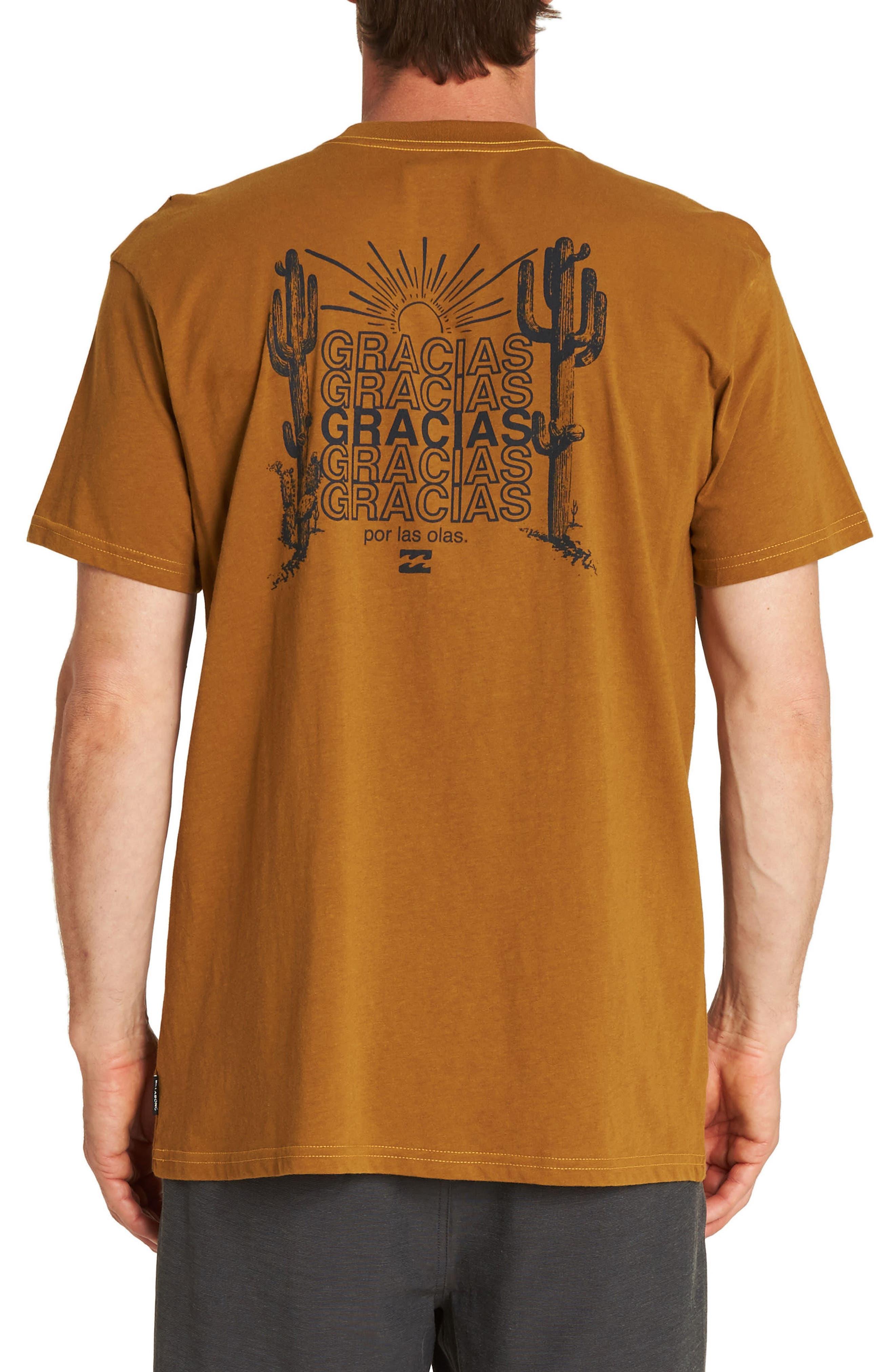 Gracias T-Shirt,                             Alternate thumbnail 2, color,                             700