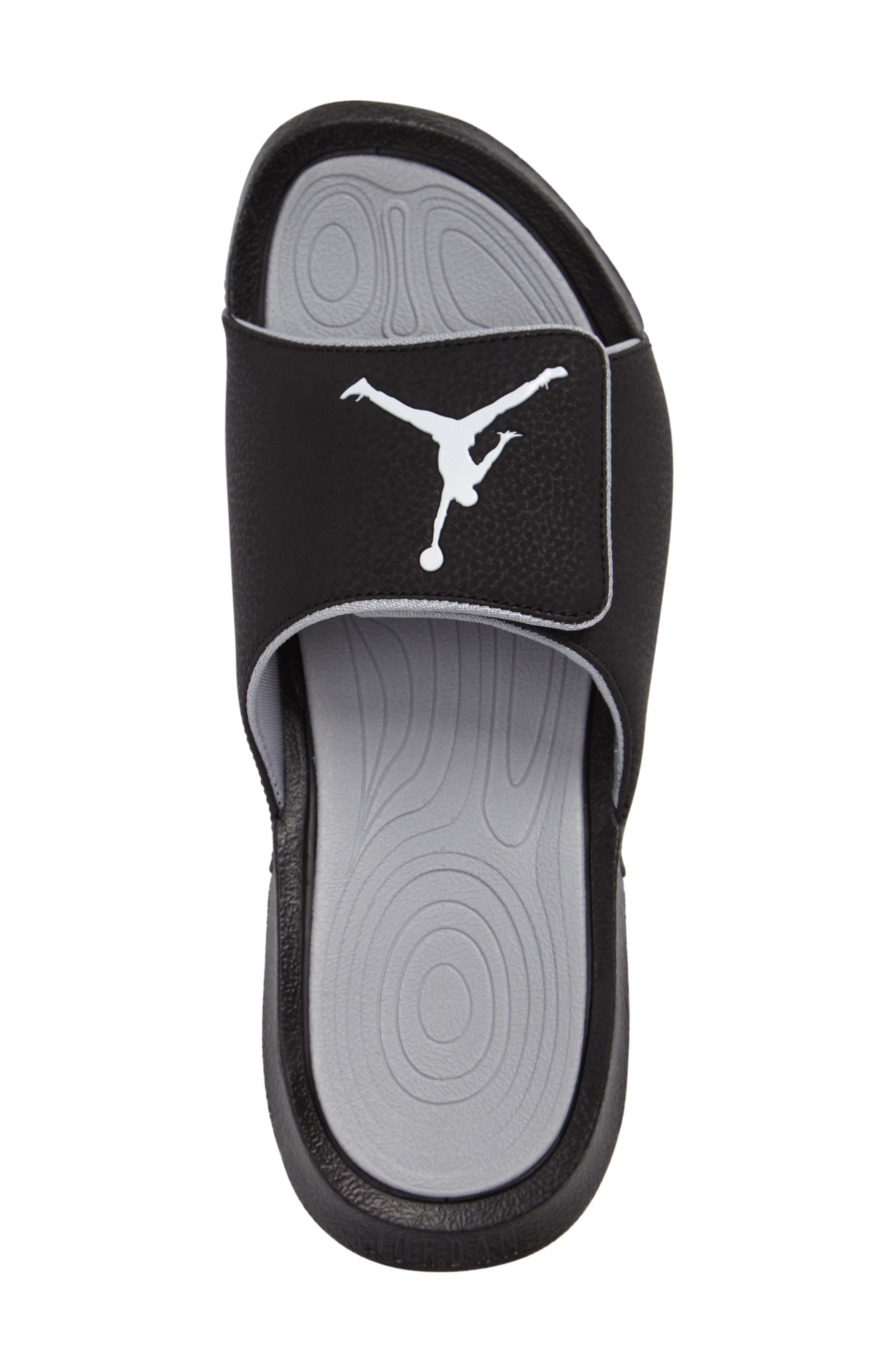 NIKE,                             Jordan Hydro 6 Slide Sandal,                             Alternate thumbnail 3, color,                             011