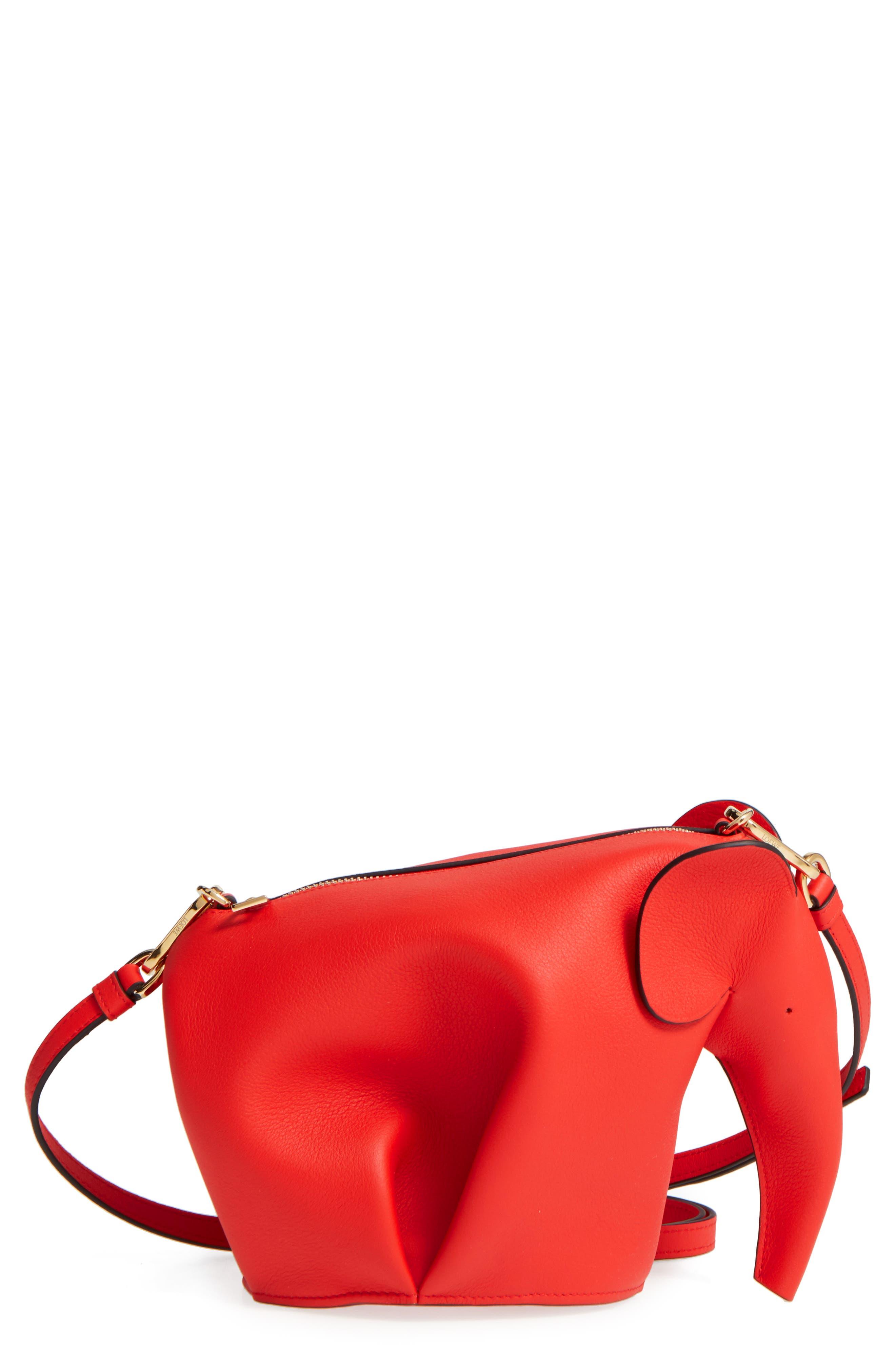 'Mini Elephant' Crossbody Bag,                             Main thumbnail 6, color,