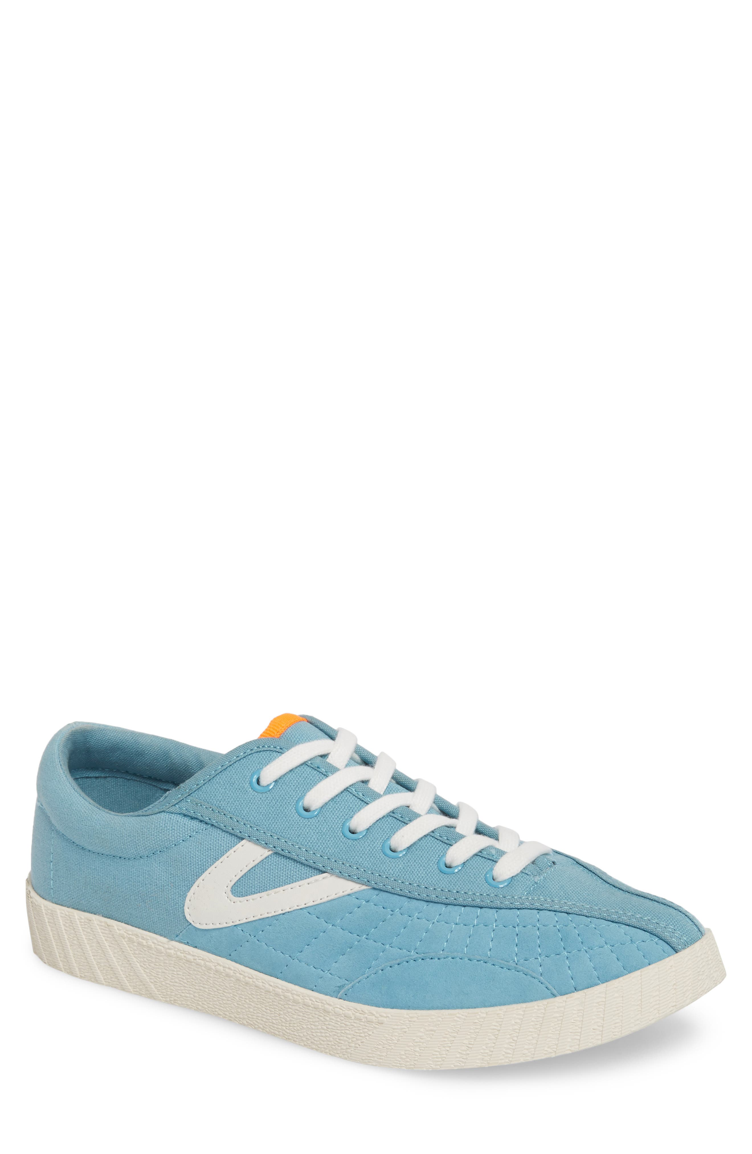 Andre 3000 Nylite Low Top Sneaker,                         Main,                         color, BABY BLUE CANVAS