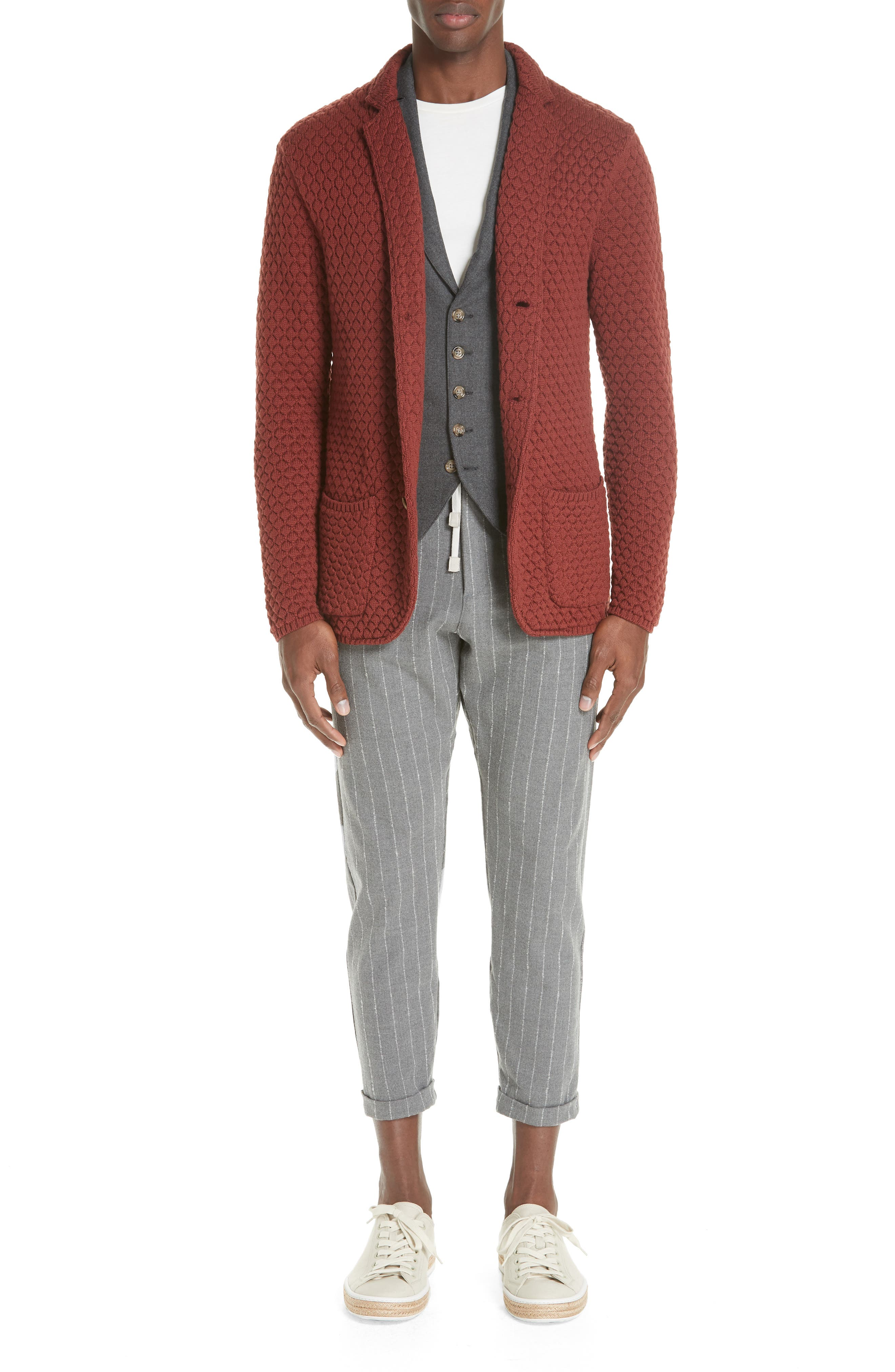 Wool Sweater Jacket,                             Alternate thumbnail 7, color,                             223