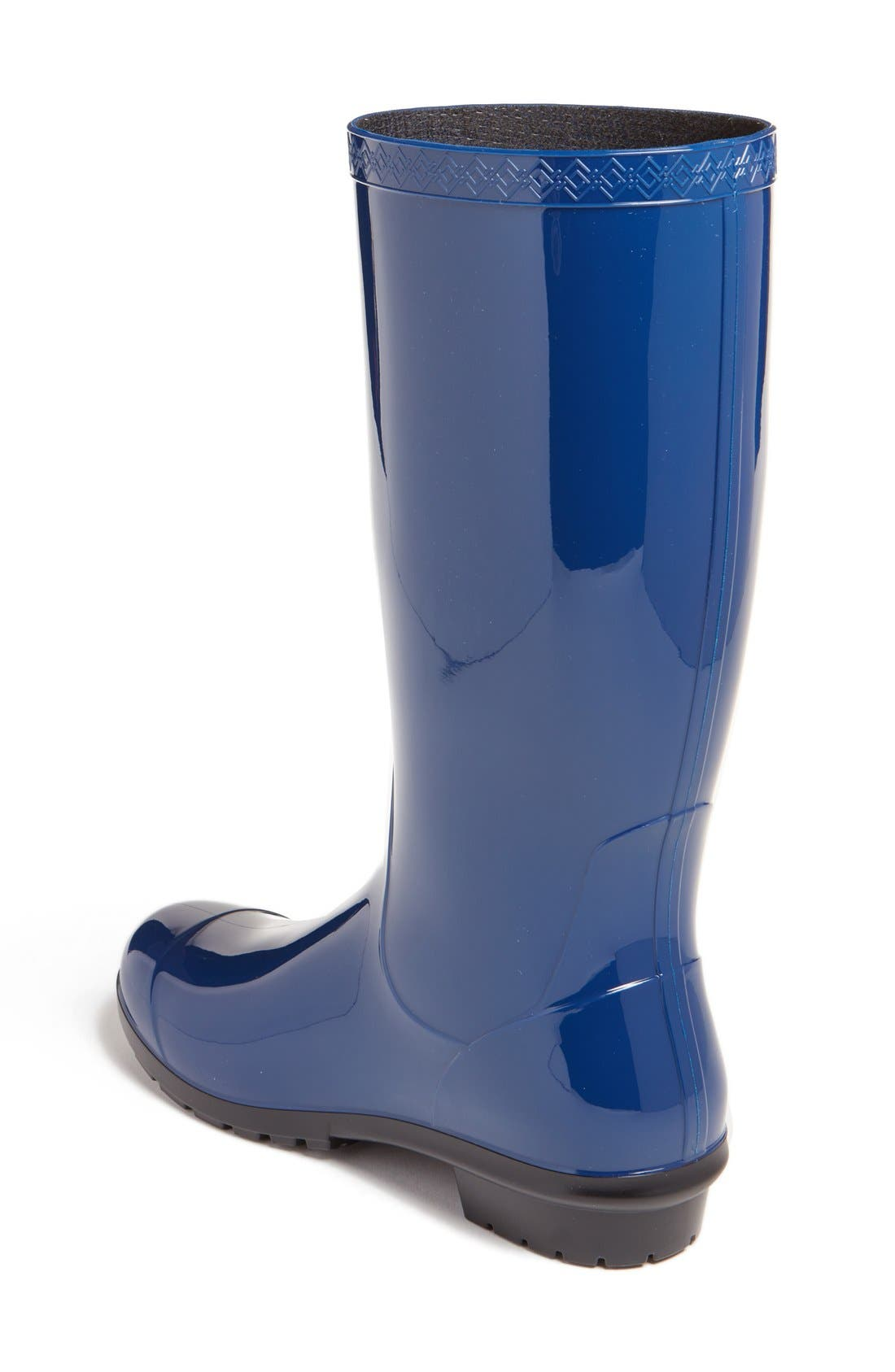 'Shaye' Rain Boot,                             Alternate thumbnail 2, color,                             BLUE JAY RUBBER