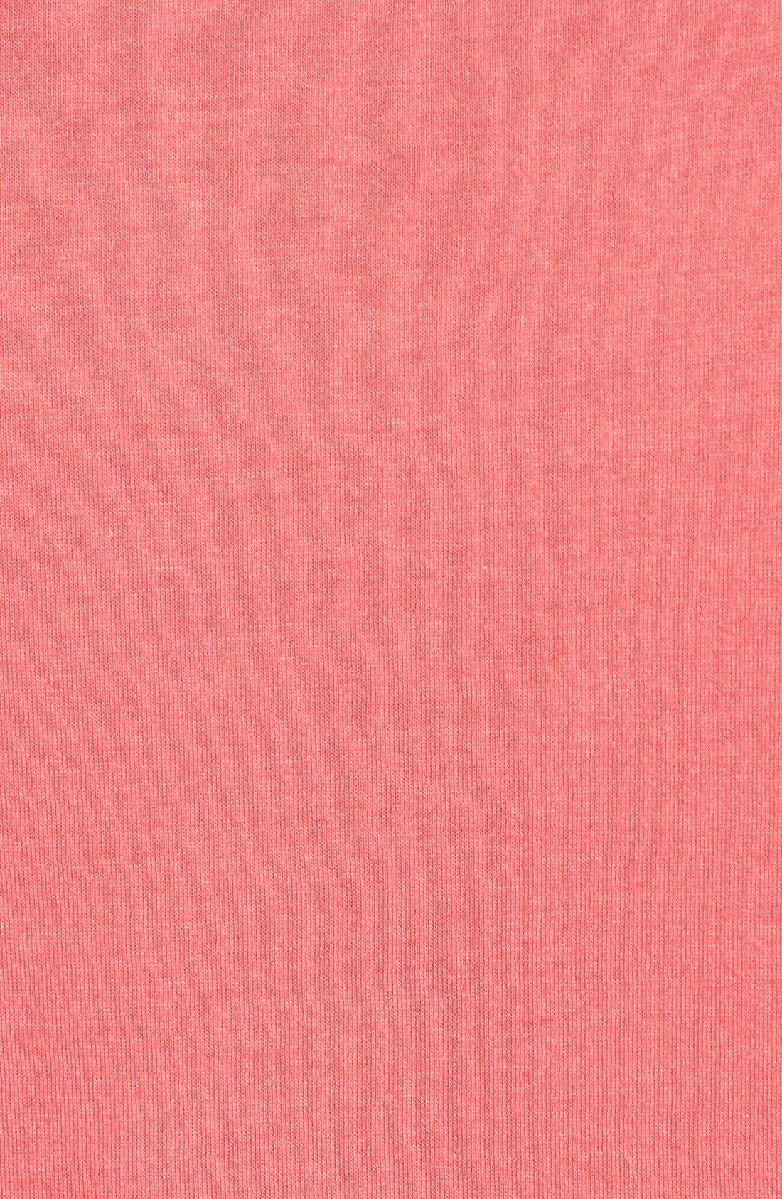 Short Sleeve Crewneck Tee,                             Alternate thumbnail 100, color,