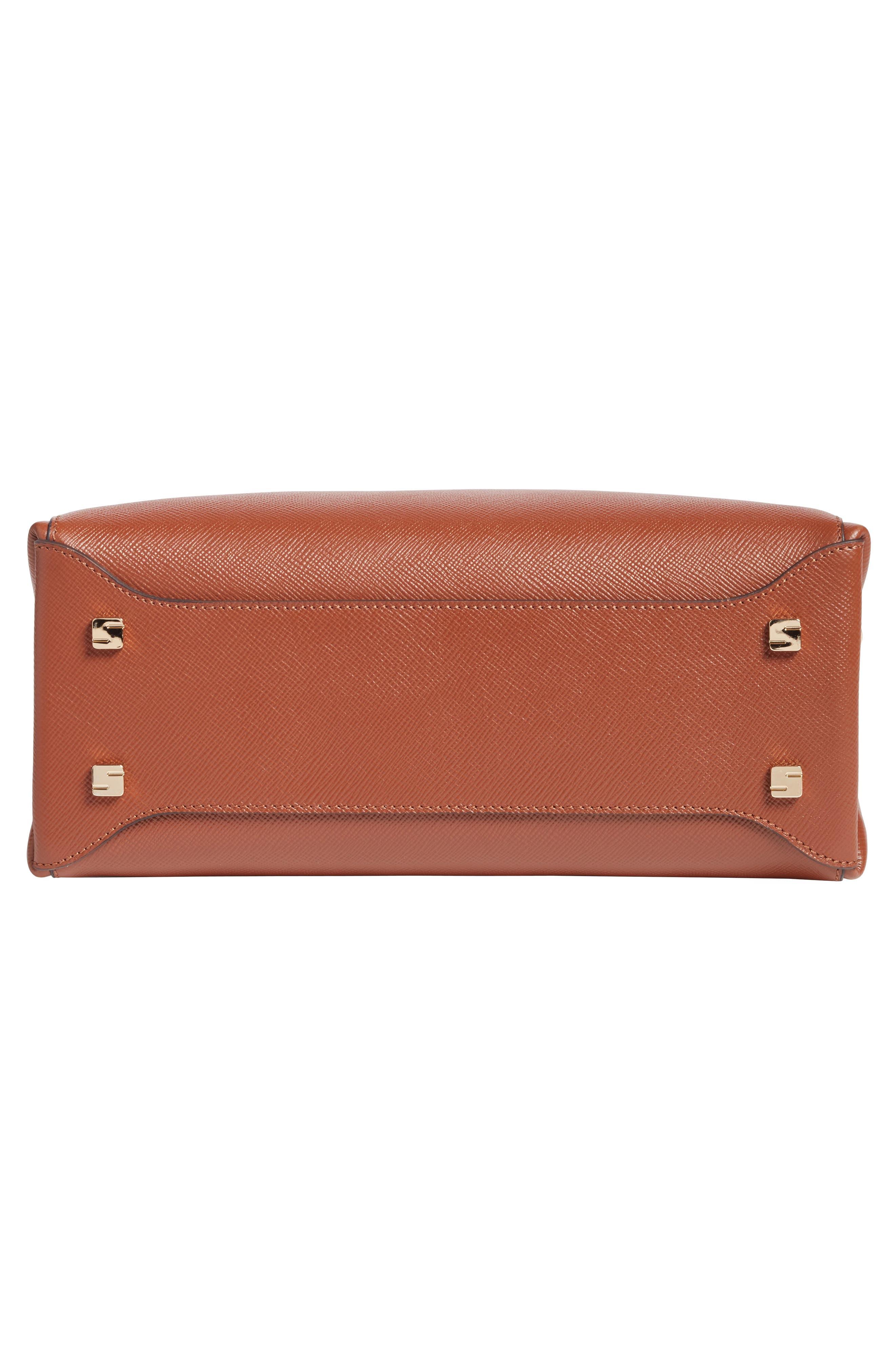 Small Meline Evolution Leather Bag,                             Alternate thumbnail 23, color,