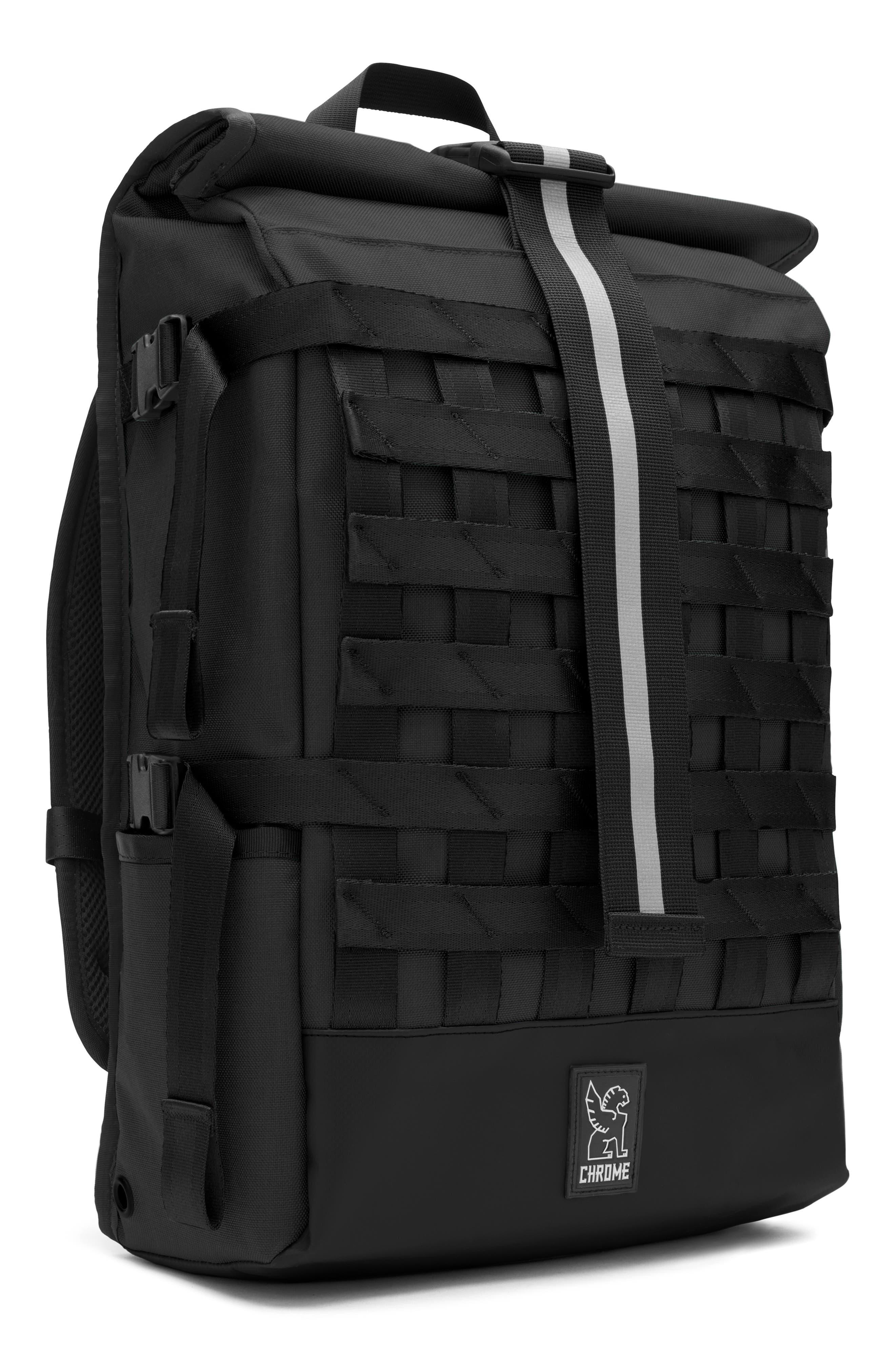 Barrage Cargo Backpack,                             Alternate thumbnail 3, color,                             BLACK