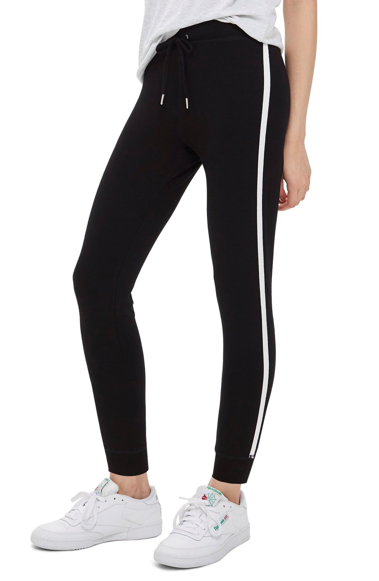 Side Stripe Jogger Pants,                         Main,                         color, 001
