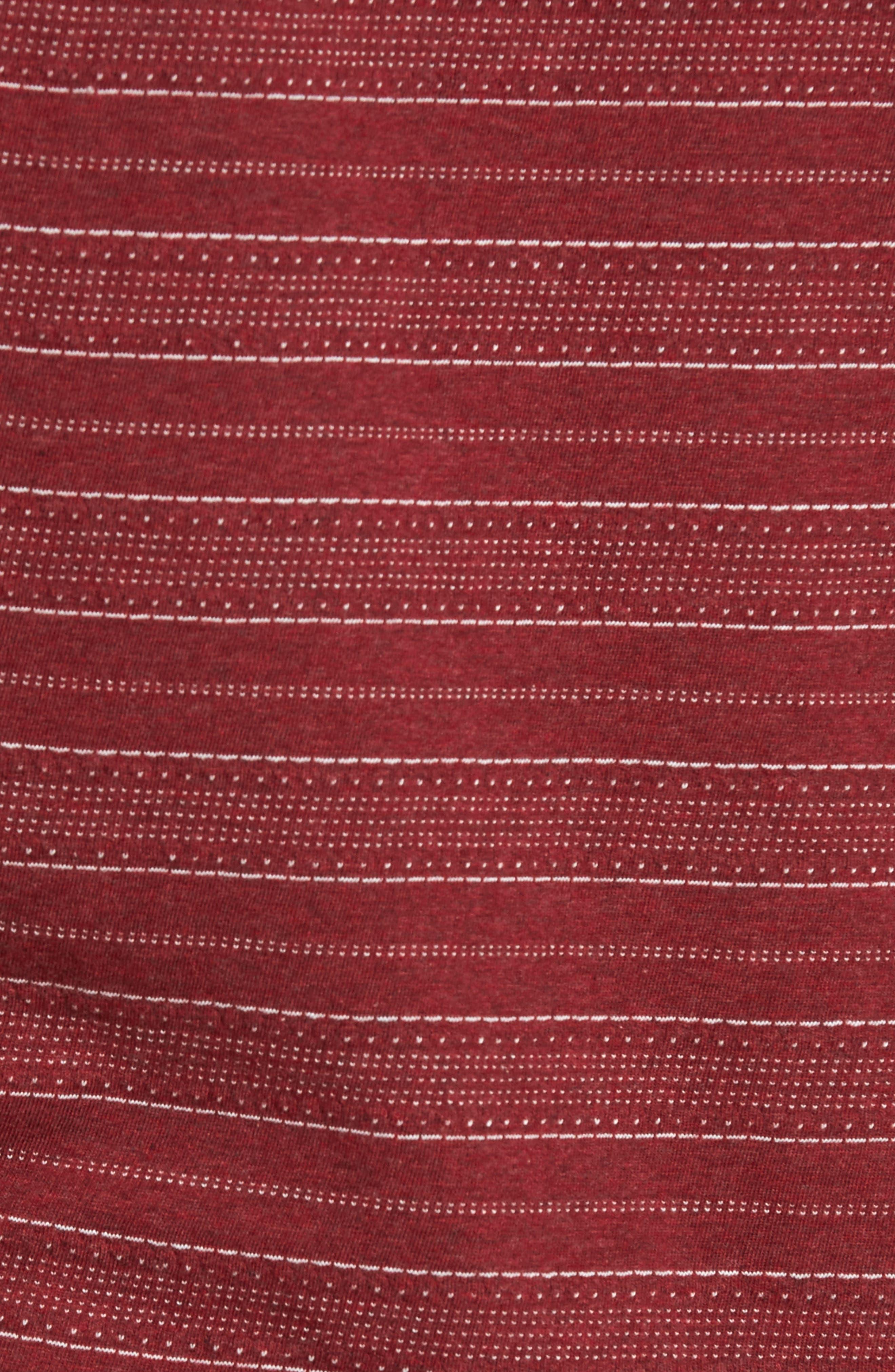 Jacquard Stripe T-Shirt,                             Alternate thumbnail 5, color,                             938