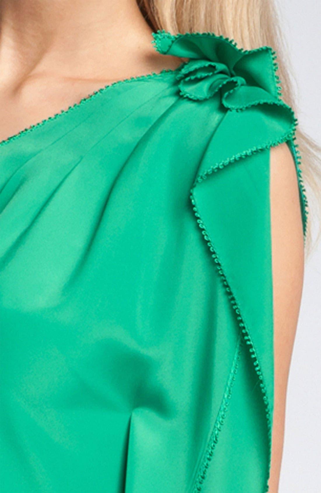 JESSICA SIMPSON,                             One Shoulder Ruffle Dress,                             Alternate thumbnail 2, color,                             310