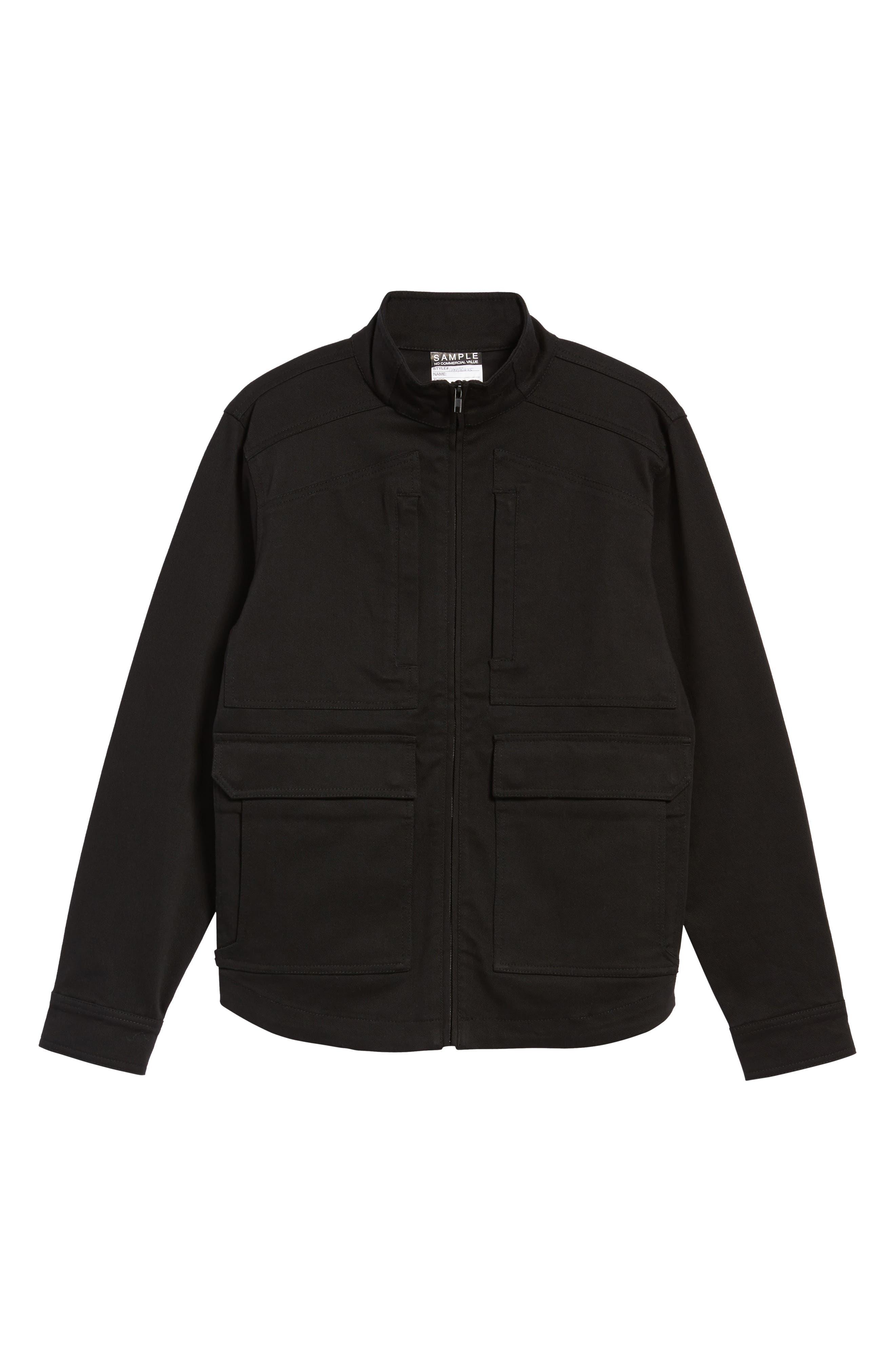 Zip Jacket,                             Alternate thumbnail 5, color,                             001