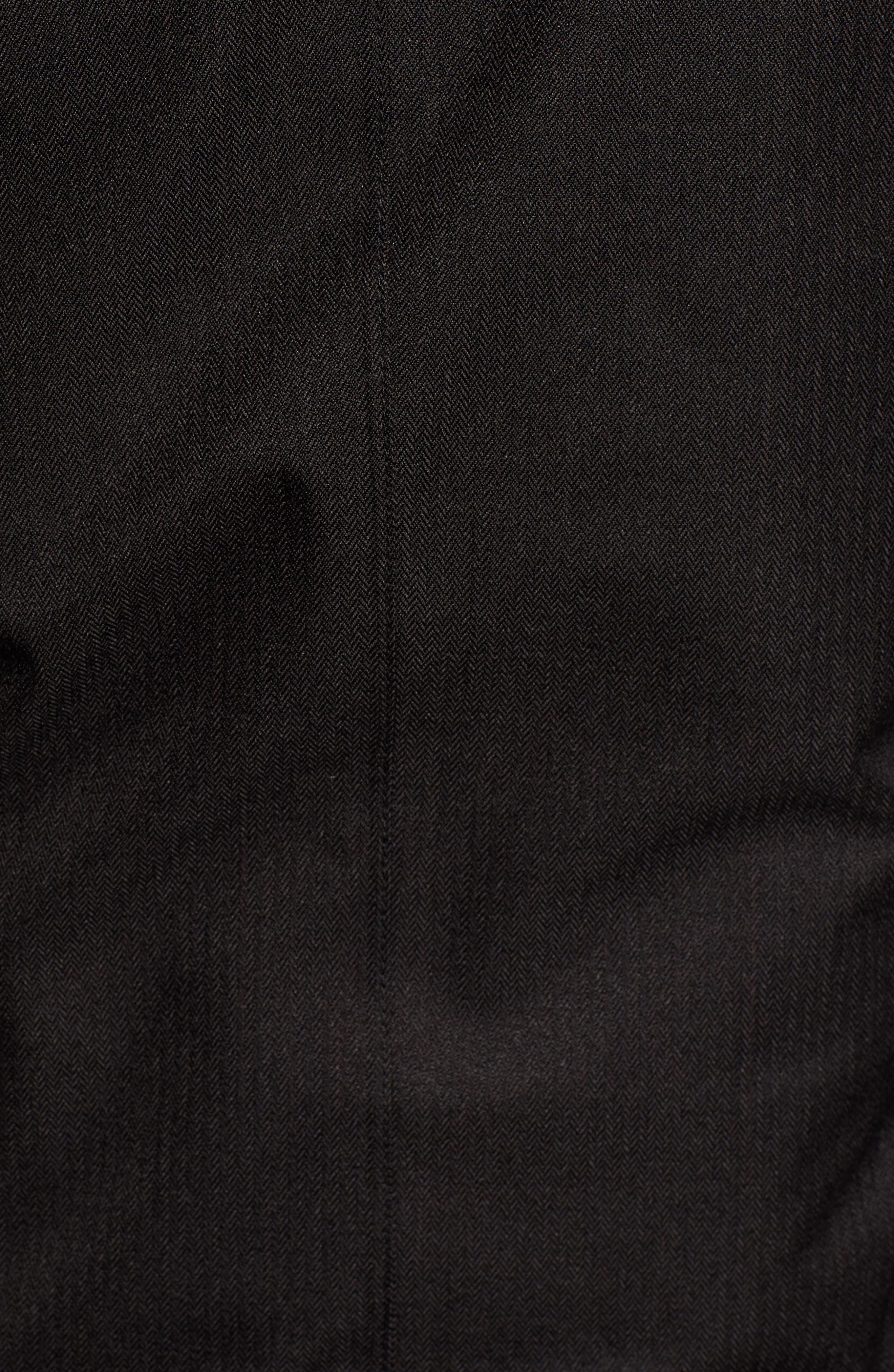 Lindsay Hooded Down Parka with Genuine Coyote Fur Trim,                             Alternate thumbnail 7, color,                             BLACK